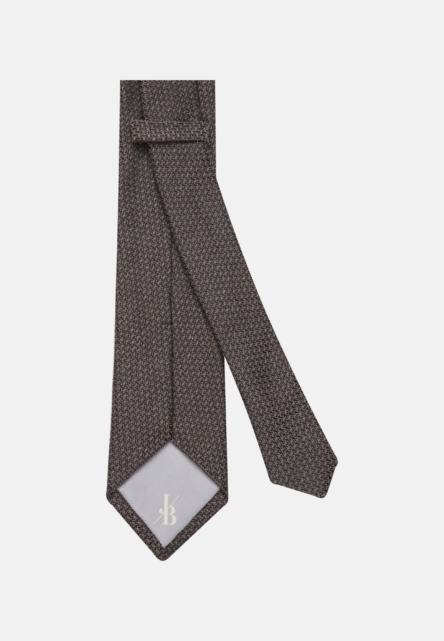 Krawatte aus 7 cm Breit in Braun    Jacques Britt Onlineshop