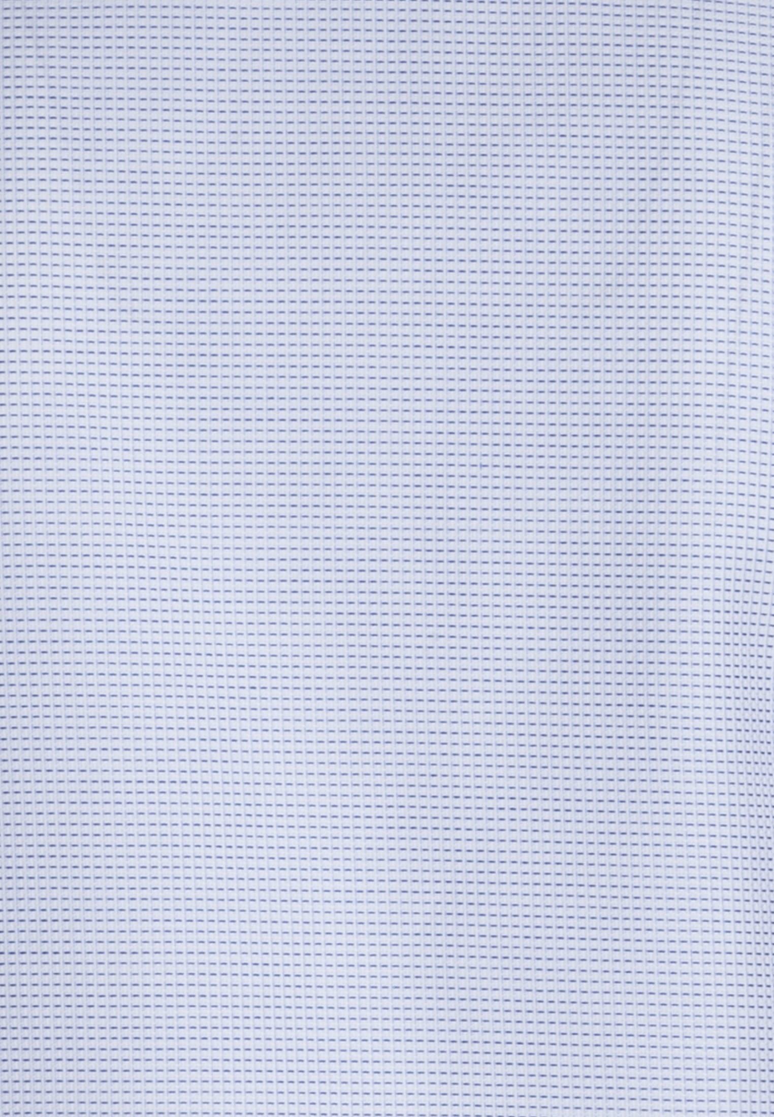 Struktur Business Hemd in Slim Fit mit Under-Button-Down-Kragen in Hellblau |  Jacques Britt Onlineshop