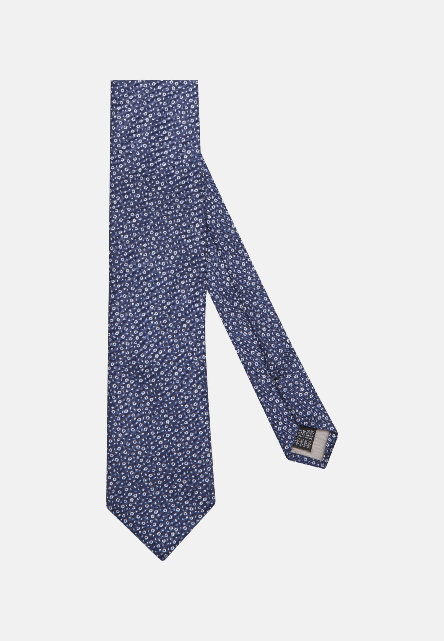 Krawatte aus 100% Seide 7 cm Breit in Mittelblau    Jacques Britt Onlineshop
