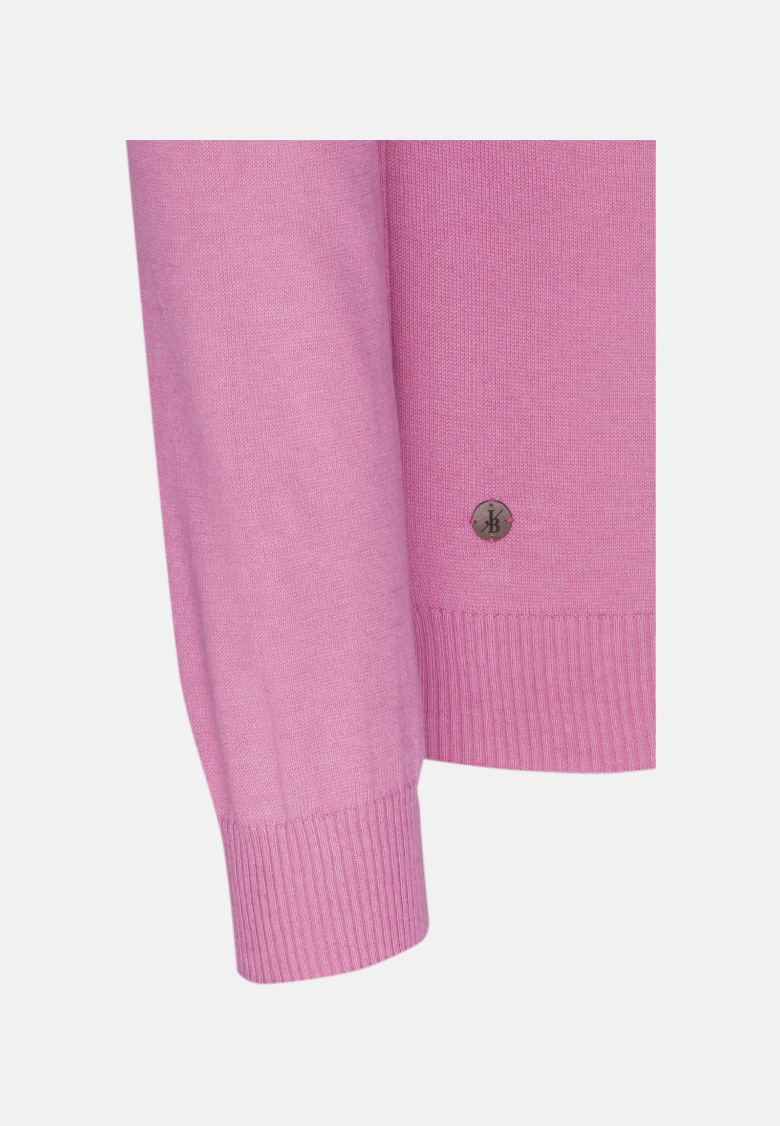 Rundhals Pullover aus in Rosa/Pink |  Jacques Britt Onlineshop