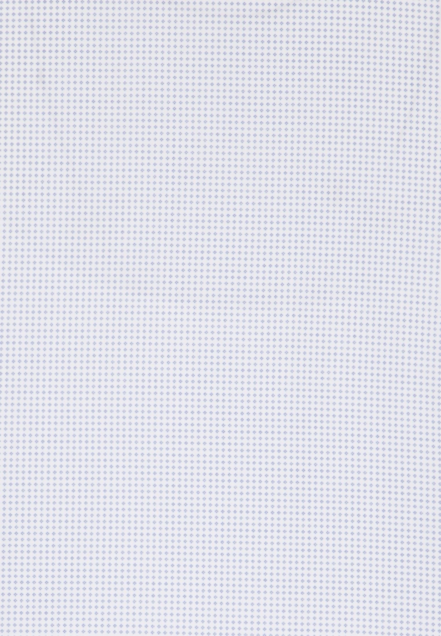 Kurzarm Popeline Business Hemd in Custom Fit mit Button-Down-Kragen in Hellblau |  Jacques Britt Onlineshop