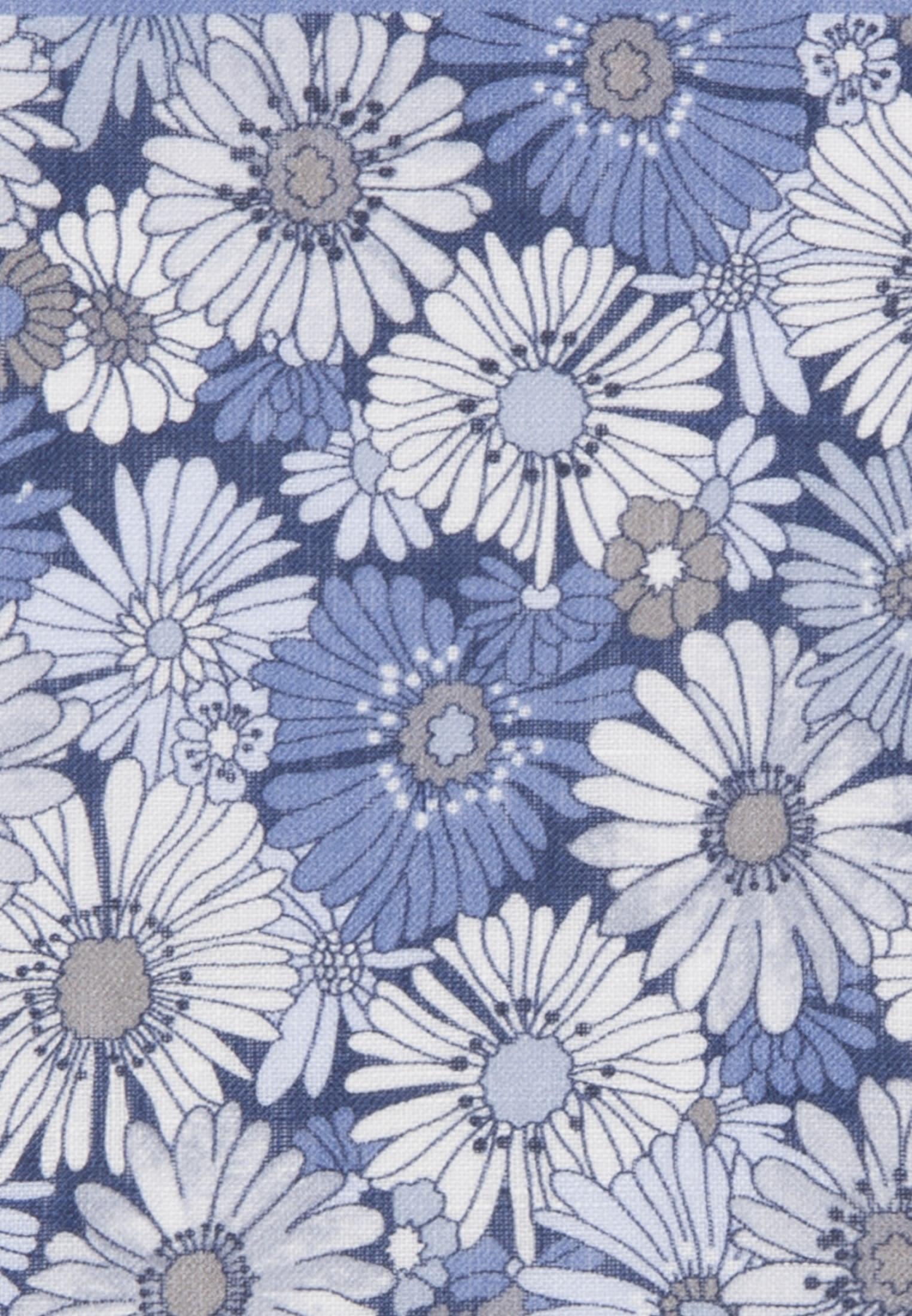 Einstecktuch aus 100% Leinen/Flachs in Mittelblau |  Jacques Britt Onlineshop