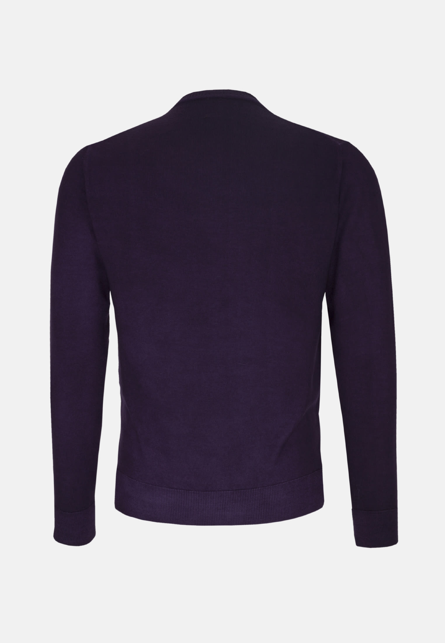 Rundhals Pullover aus 100% Merino-Wolle in Lila |  Jacques Britt Onlineshop