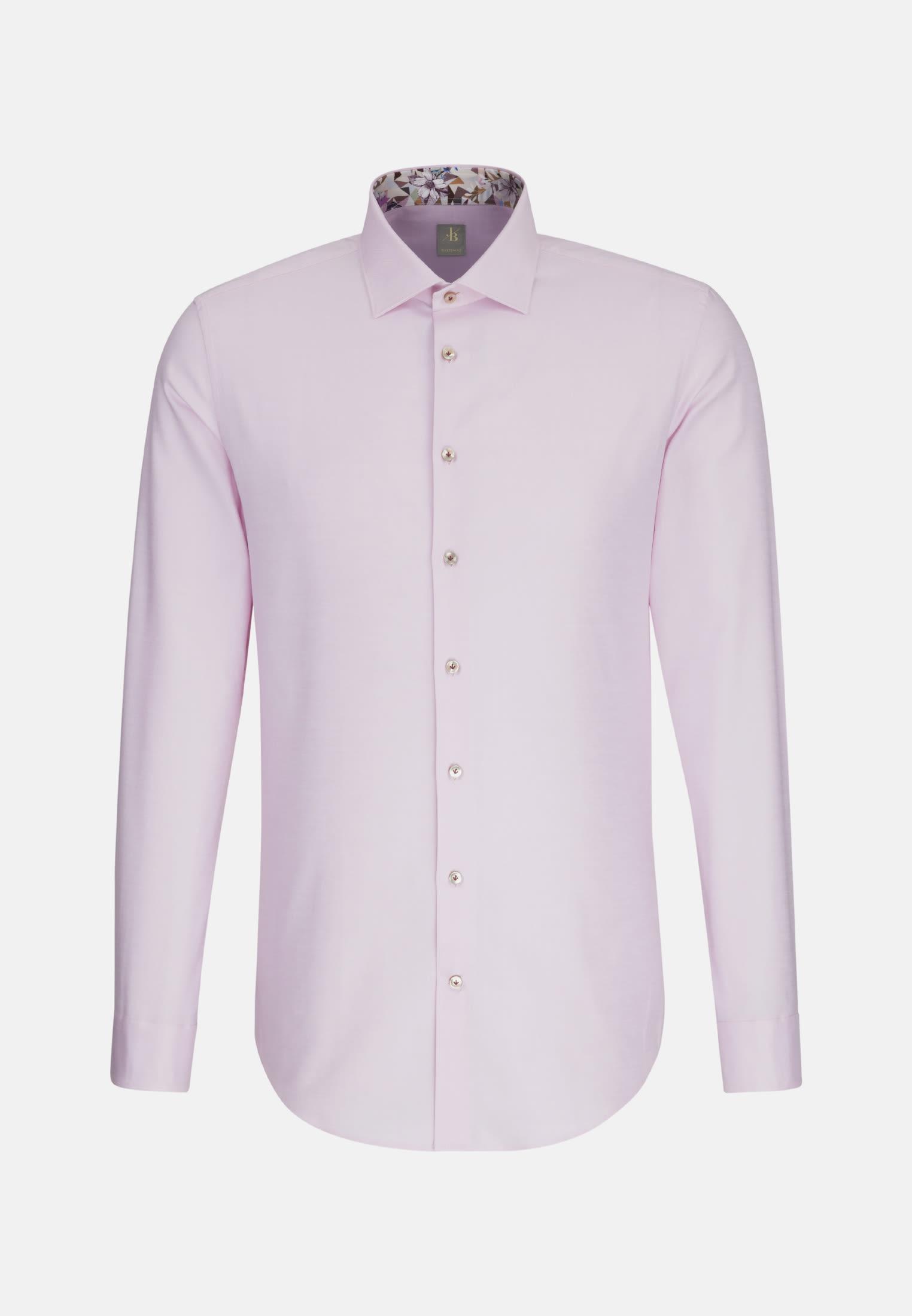 Oxford Business Hemd in Custom Fit mit Kentkragen in Rosa/Pink |  Jacques Britt Onlineshop