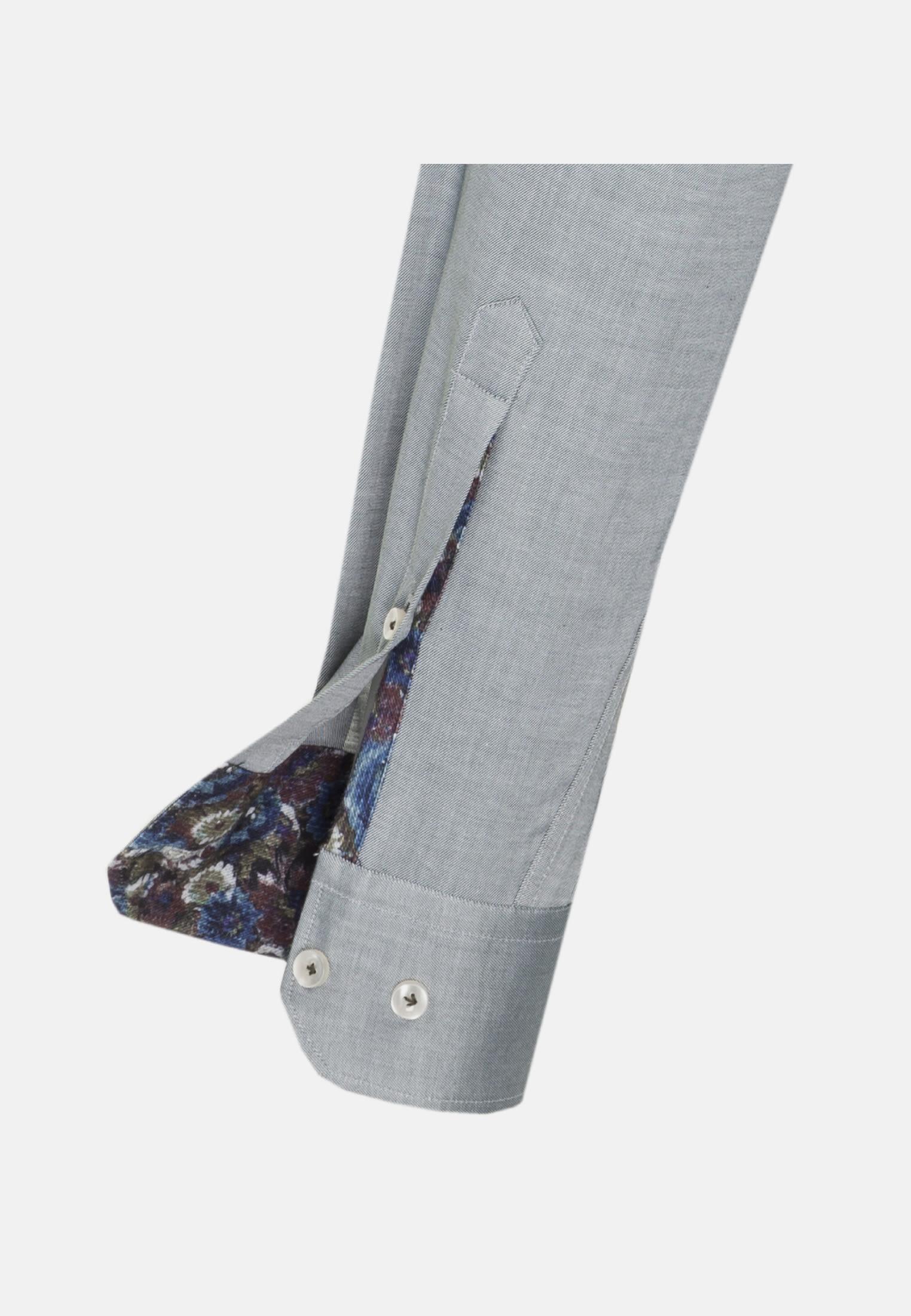 Twill Business Hemd in Custom Fit mit Kentkragen in Grün |  Jacques Britt Onlineshop