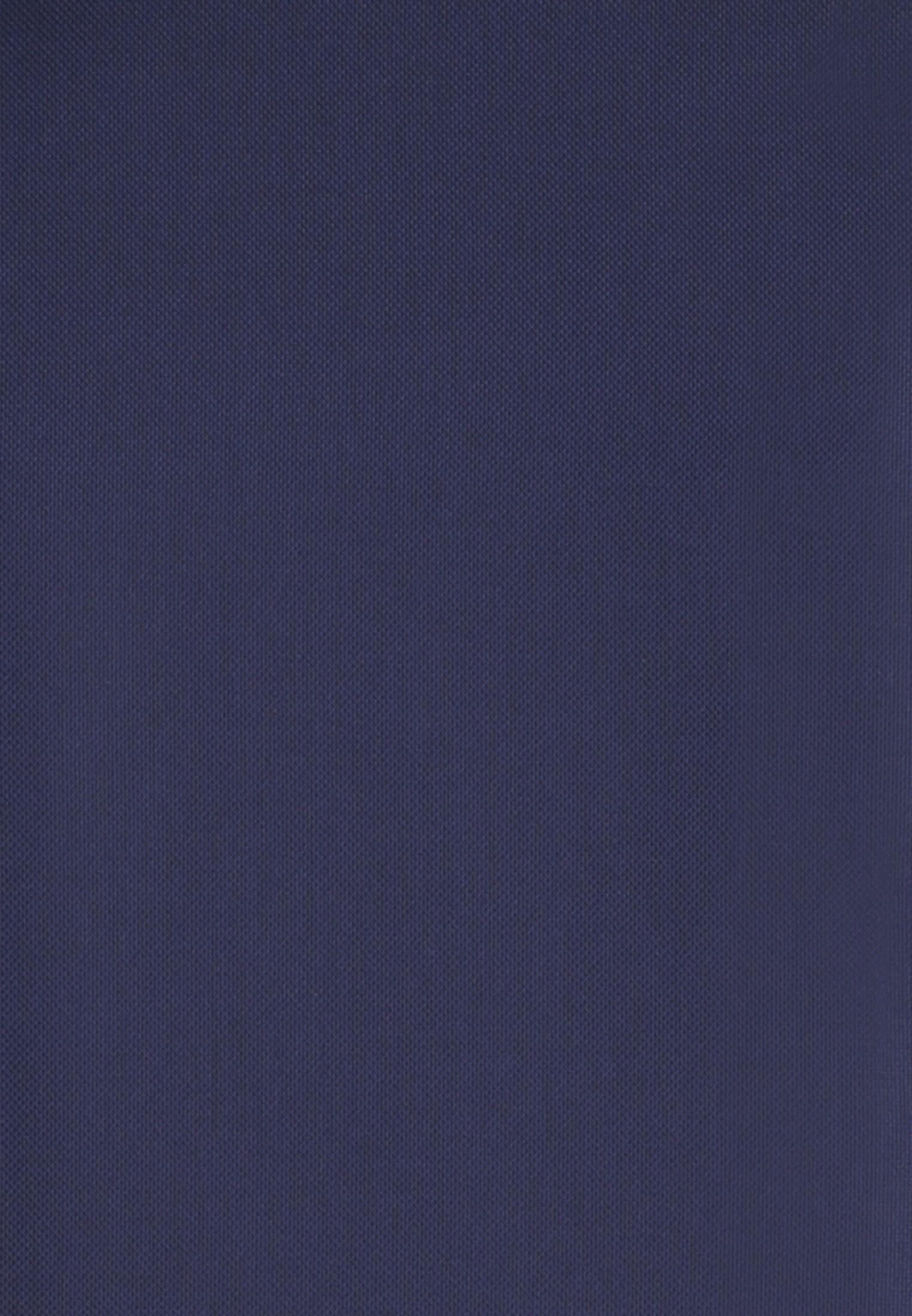 Struktur Business Hemd in Custom Fit mit Haifischkragen in Dunkelblau |  Jacques Britt Onlineshop