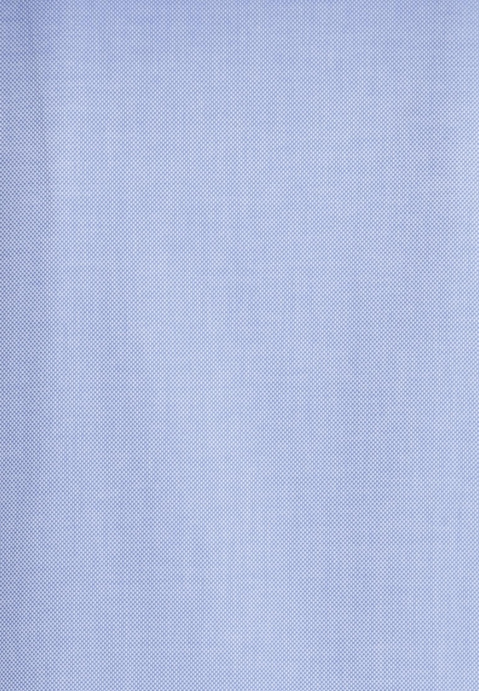 Struktur Business Hemd in Slim Fit mit Haifischkragen in Hellblau |  Jacques Britt Onlineshop