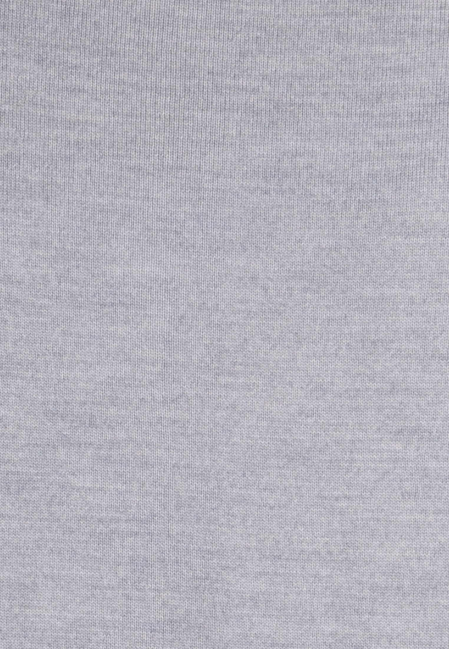 V-Neck Pullover aus 100% Merinowolle in Grau |  Jacques Britt Onlineshop