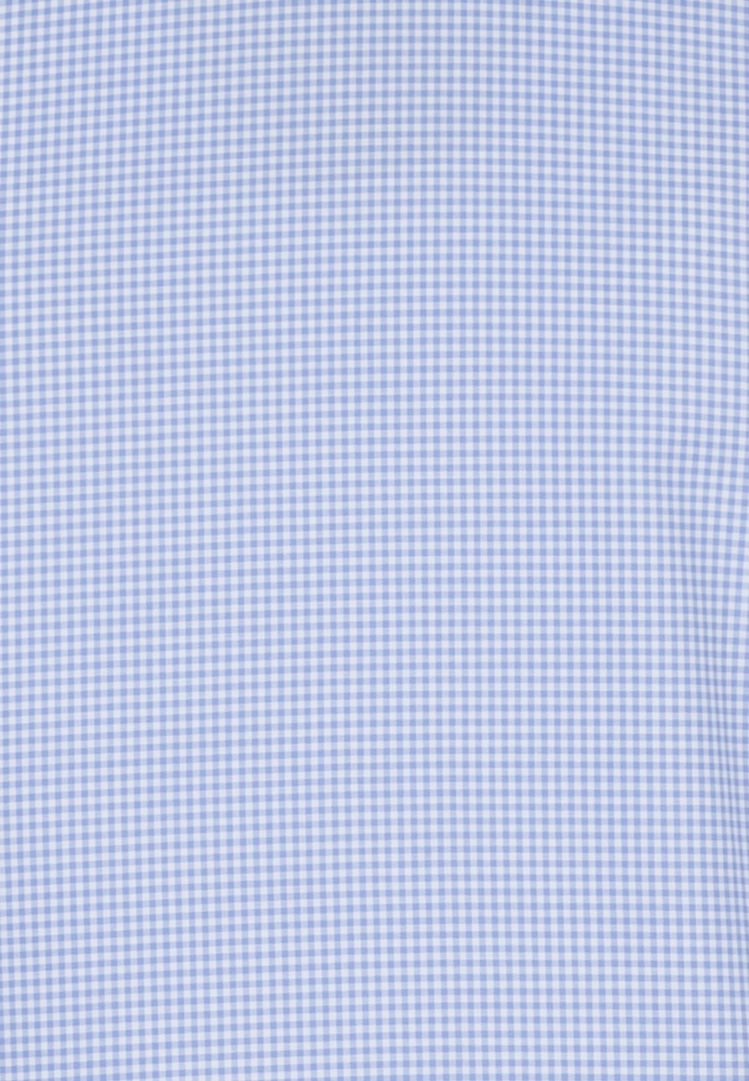 Twill Business Hemd in Slim Fit mit Button-Down-Kragen in Hellblau    Jacques Britt Onlineshop