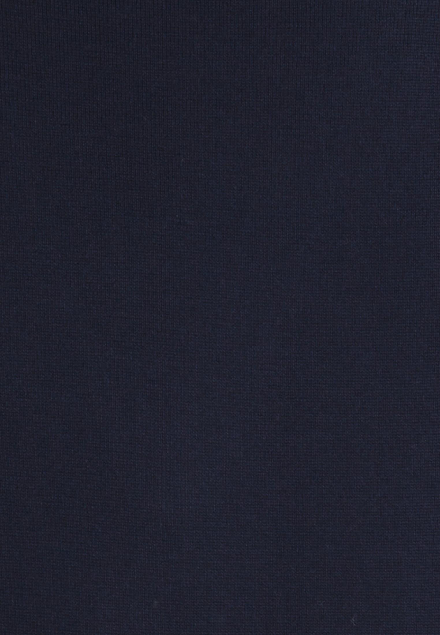 V-Neck Cardigan aus 100% Merinowolle in Dunkelblau |  Jacques Britt Onlineshop