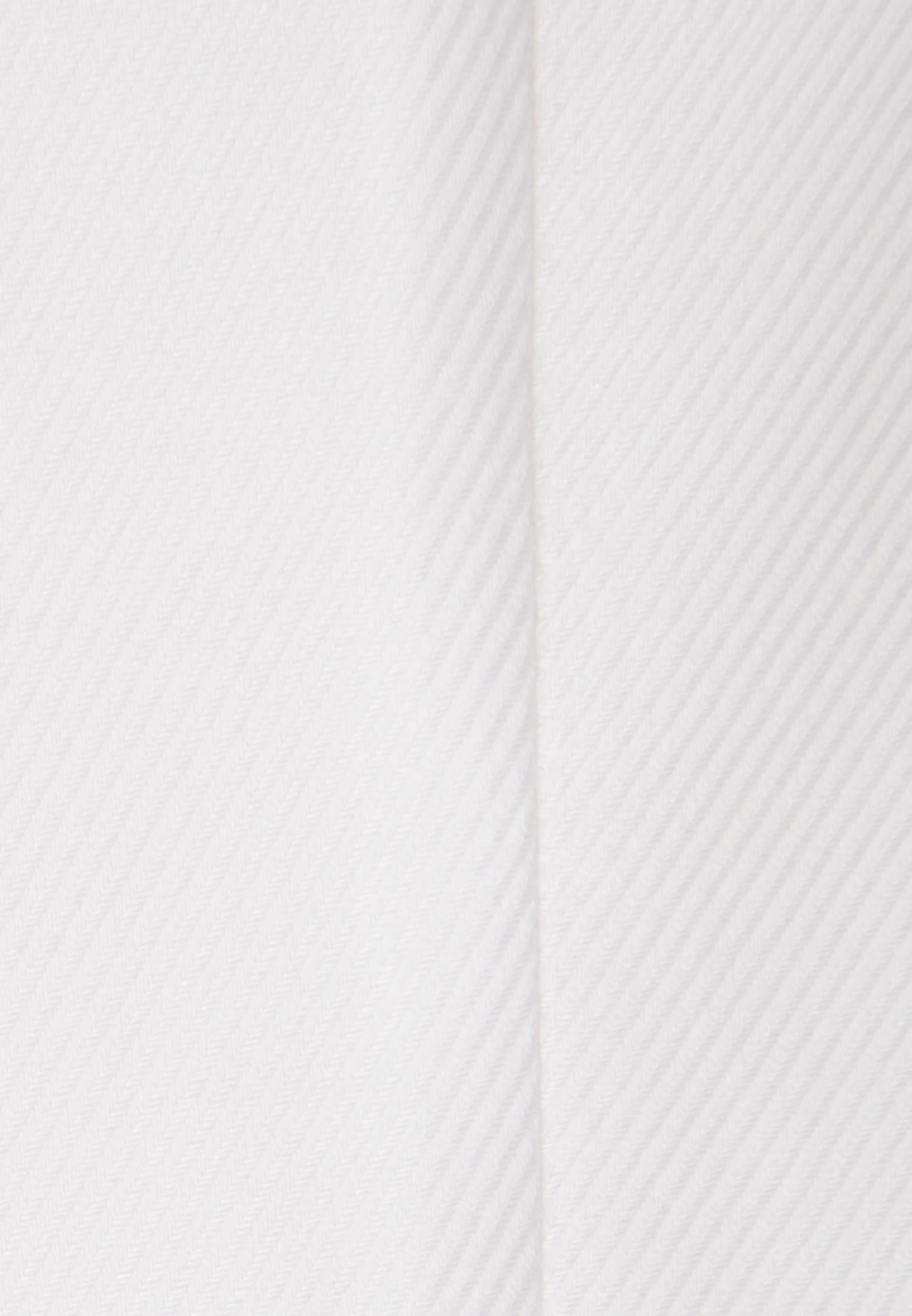 Twill Hemdbluse aus 100% Baumwolle in Weiss    Seidensticker Onlineshop