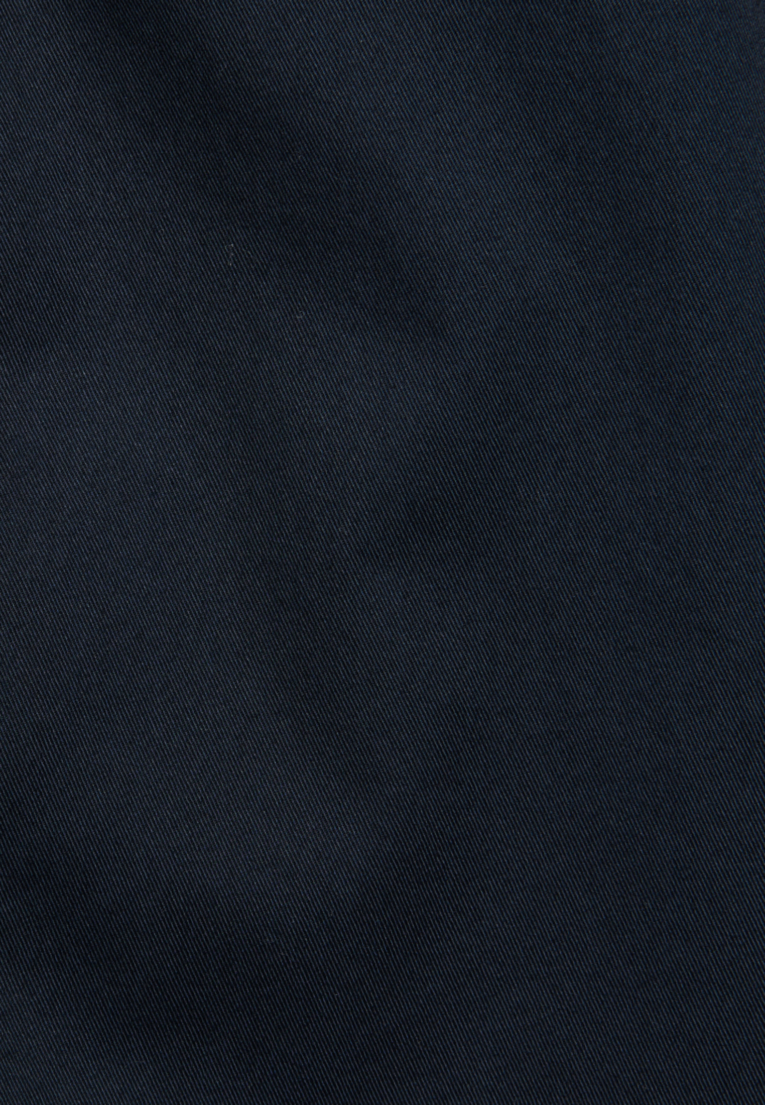 Twill Stehkragenbluse aus 100% Baumwolle in Dunkelblau |  Seidensticker Onlineshop