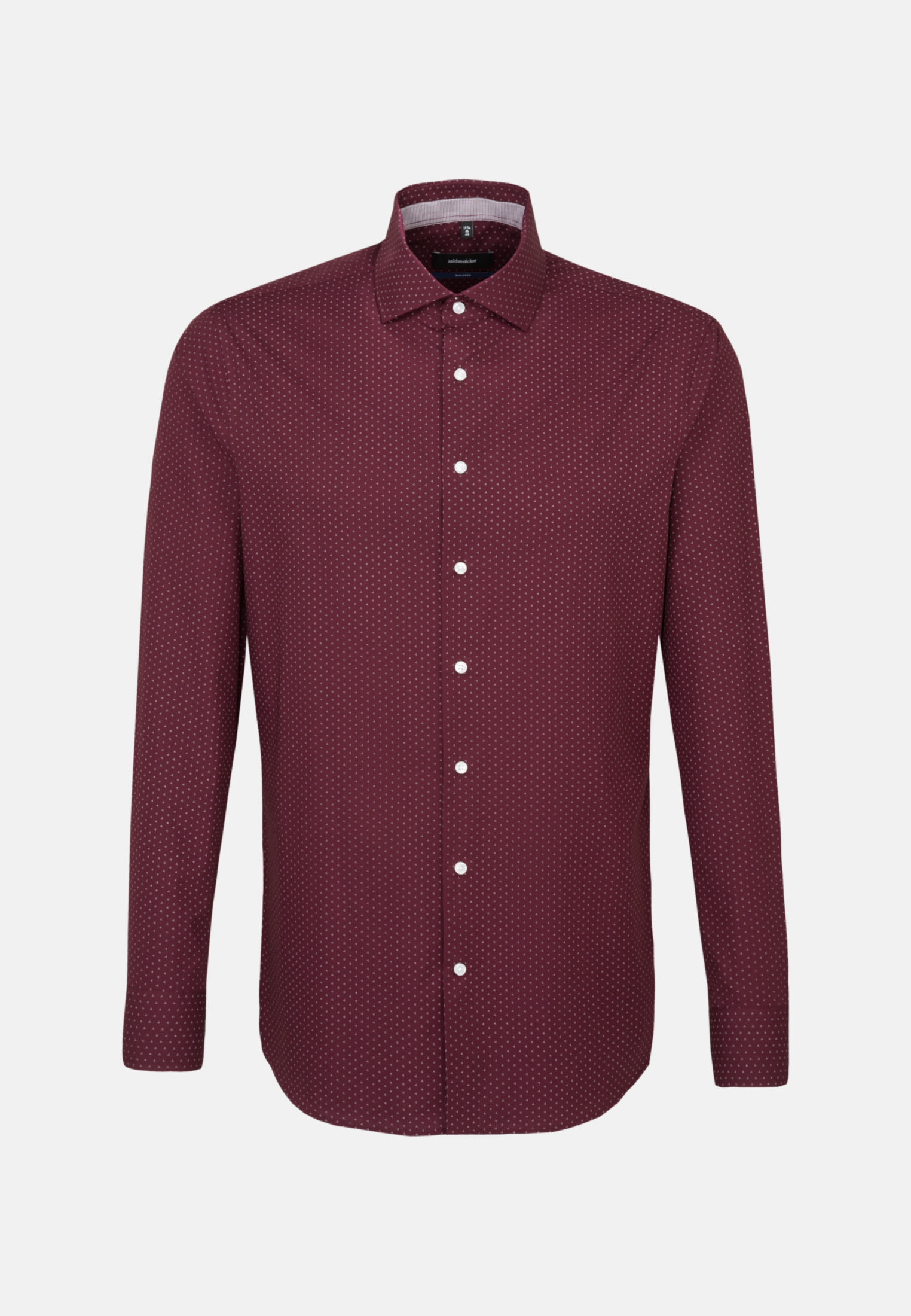 Easy-iron Poplin Business Shirt in Shaped with Kent-Collar in Red |  Seidensticker Onlineshop