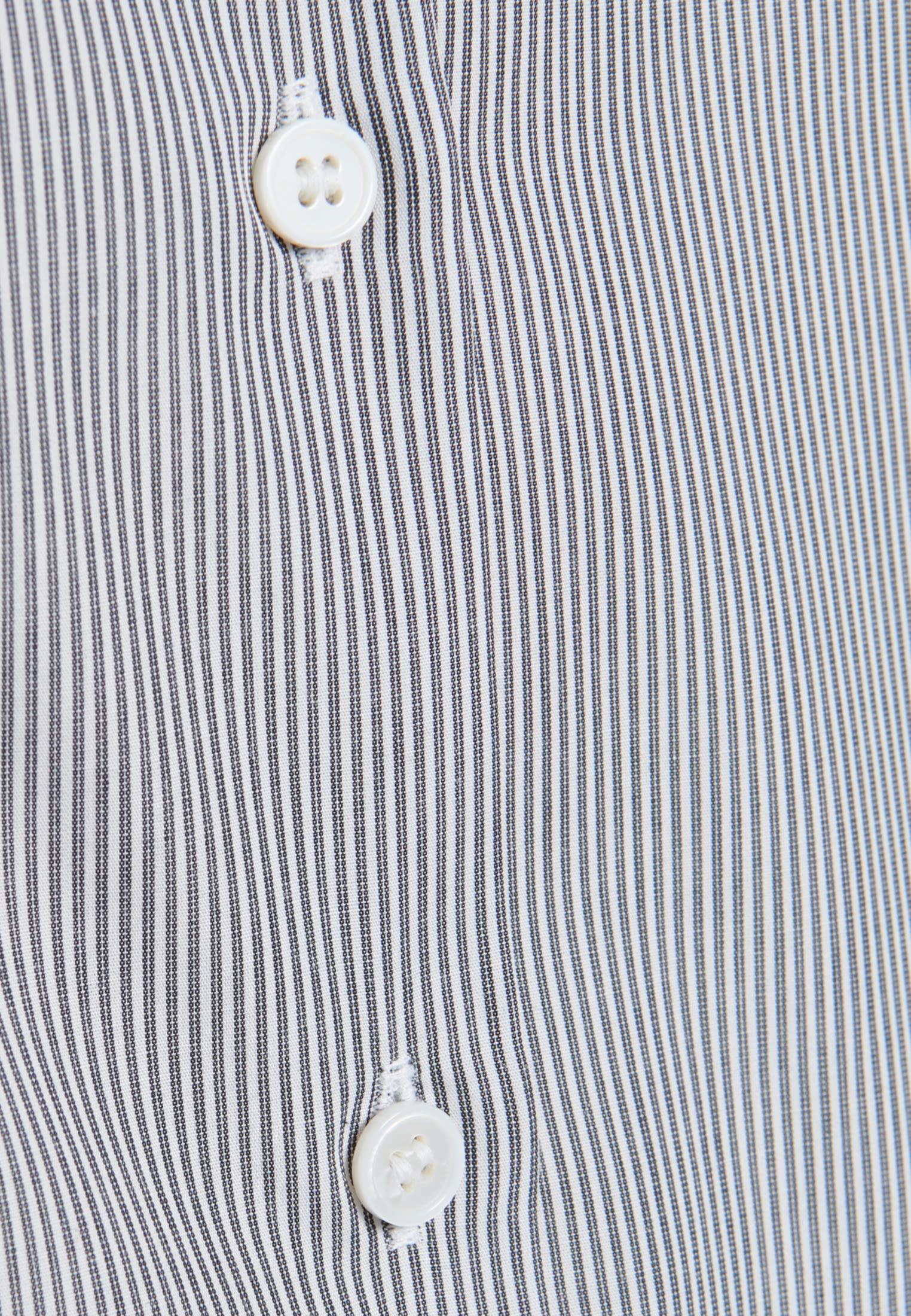Poplin Shirt Blouse made of 100% Cotton in Grey |  Seidensticker Onlineshop