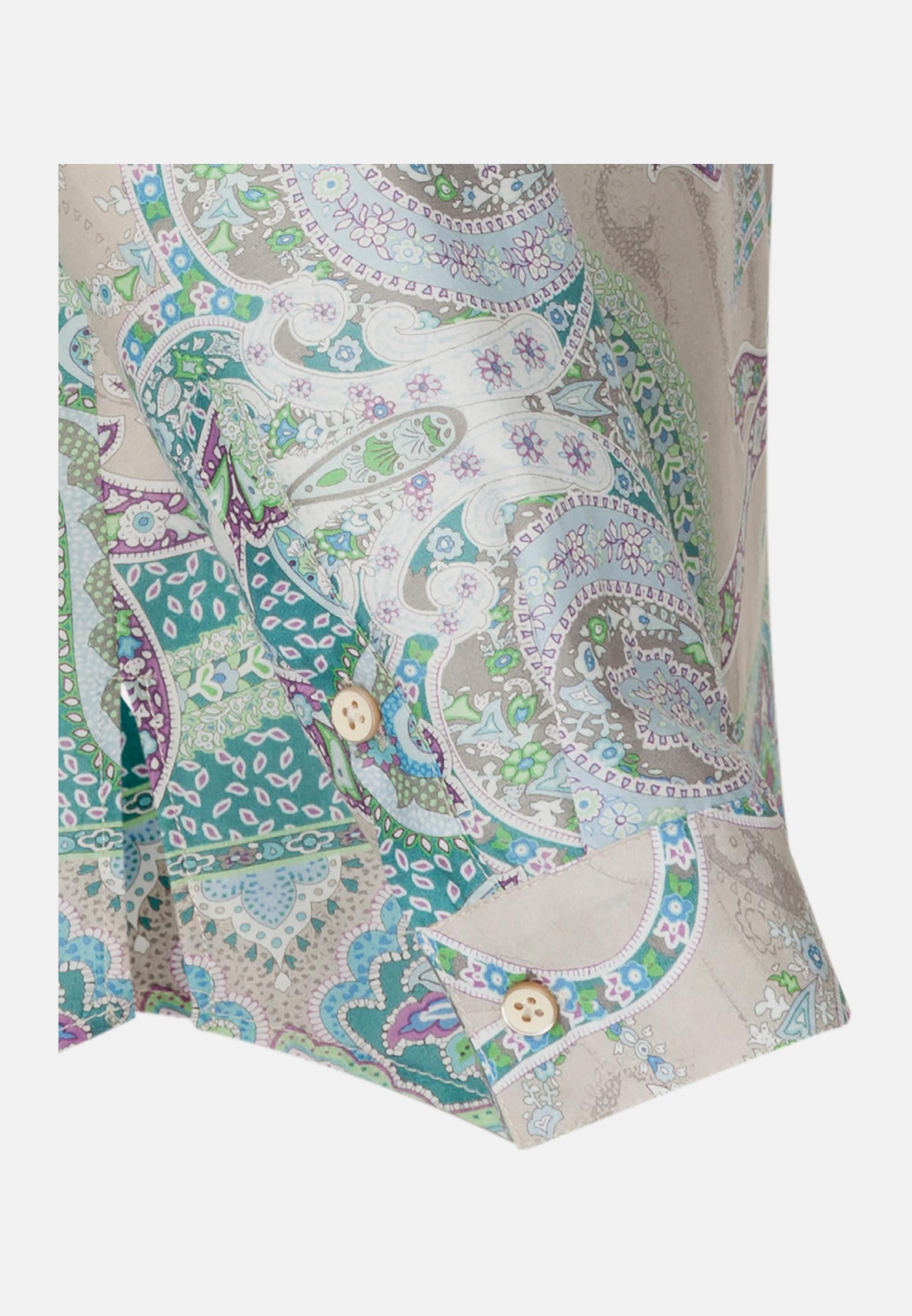 Voile Tunic made of 100% Cotton in Green |  Seidensticker Onlineshop