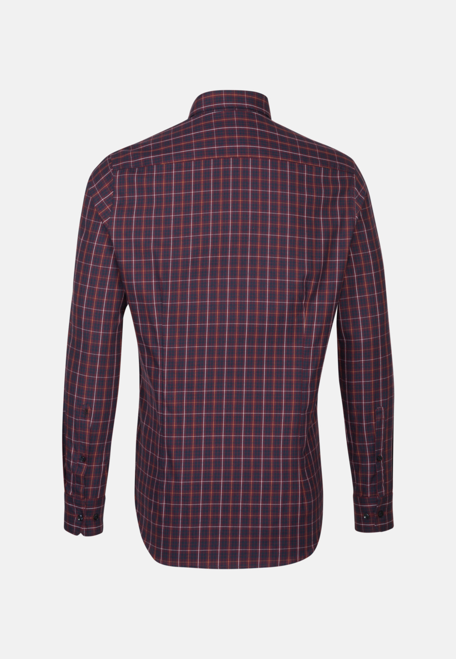 Easy-iron Twill Business Shirt in Tailored with Button-Down-Collar in rot |  Seidensticker Onlineshop