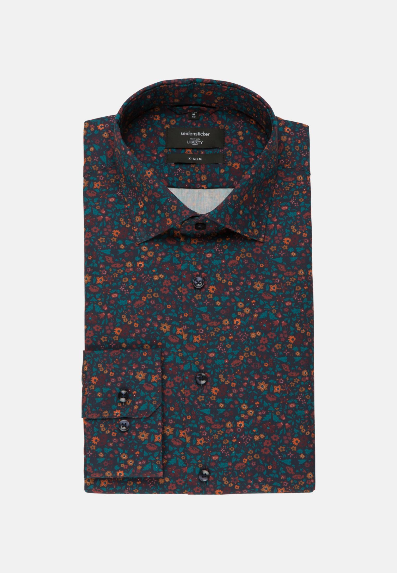 Easy-iron Poplin Business Shirt in X-Slim with Kent-Collar in rot |  Seidensticker Onlineshop