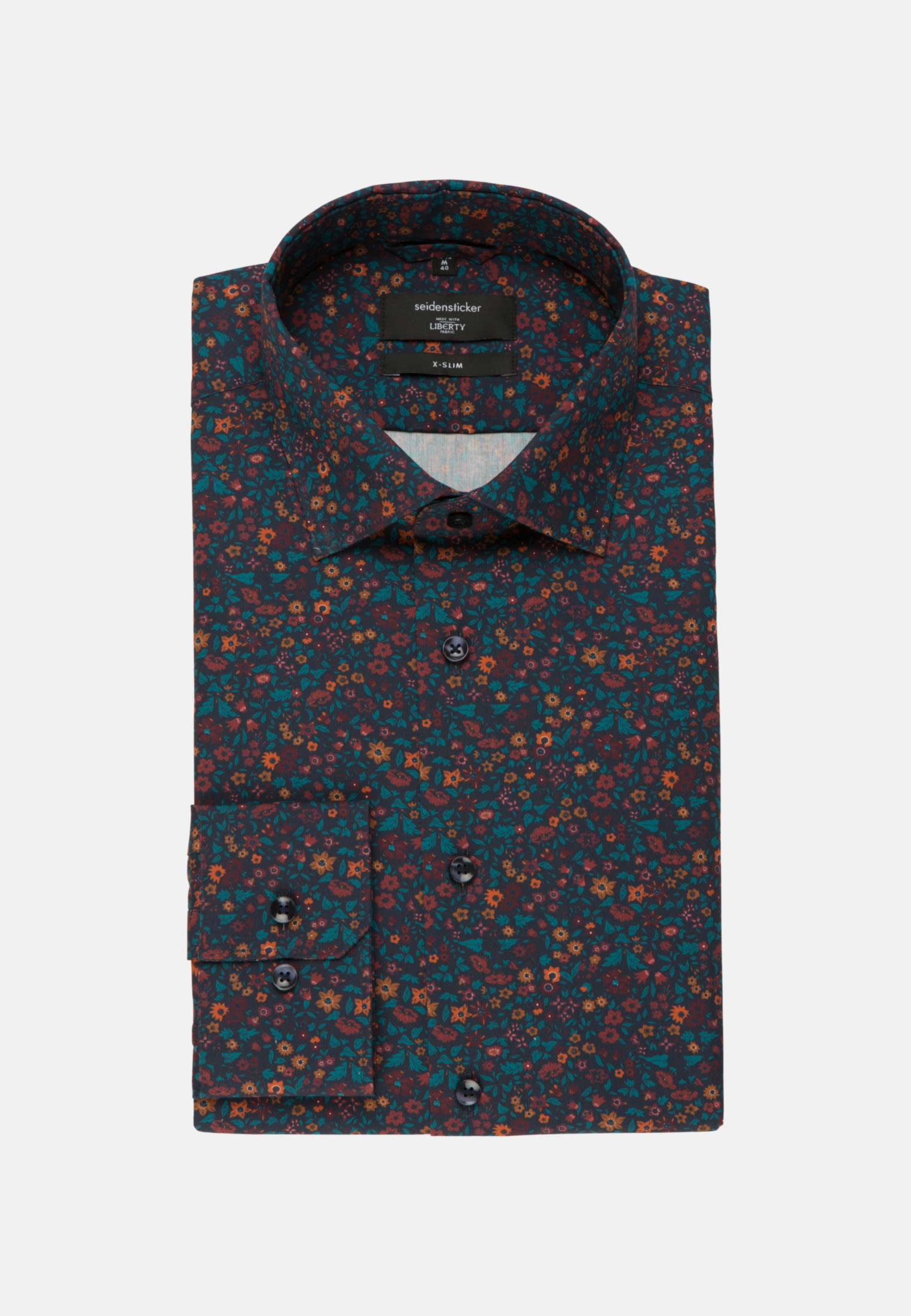Easy-iron Poplin Business Shirt in X-Slim with Kent-Collar in Red |  Seidensticker Onlineshop