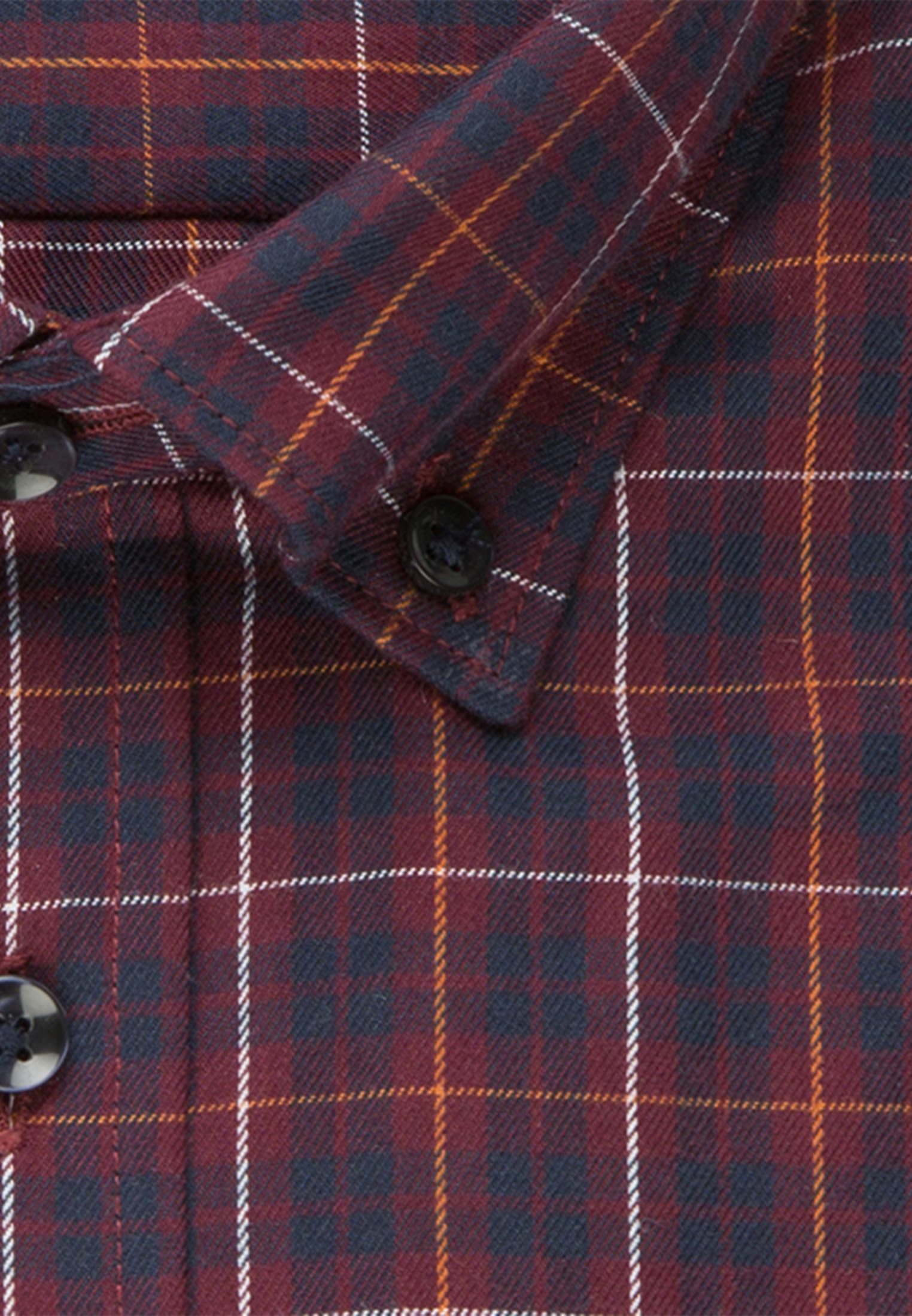 Easy-iron Twill Business Shirt in X-Slim with Button-Down-Collar in rot |  Seidensticker Onlineshop