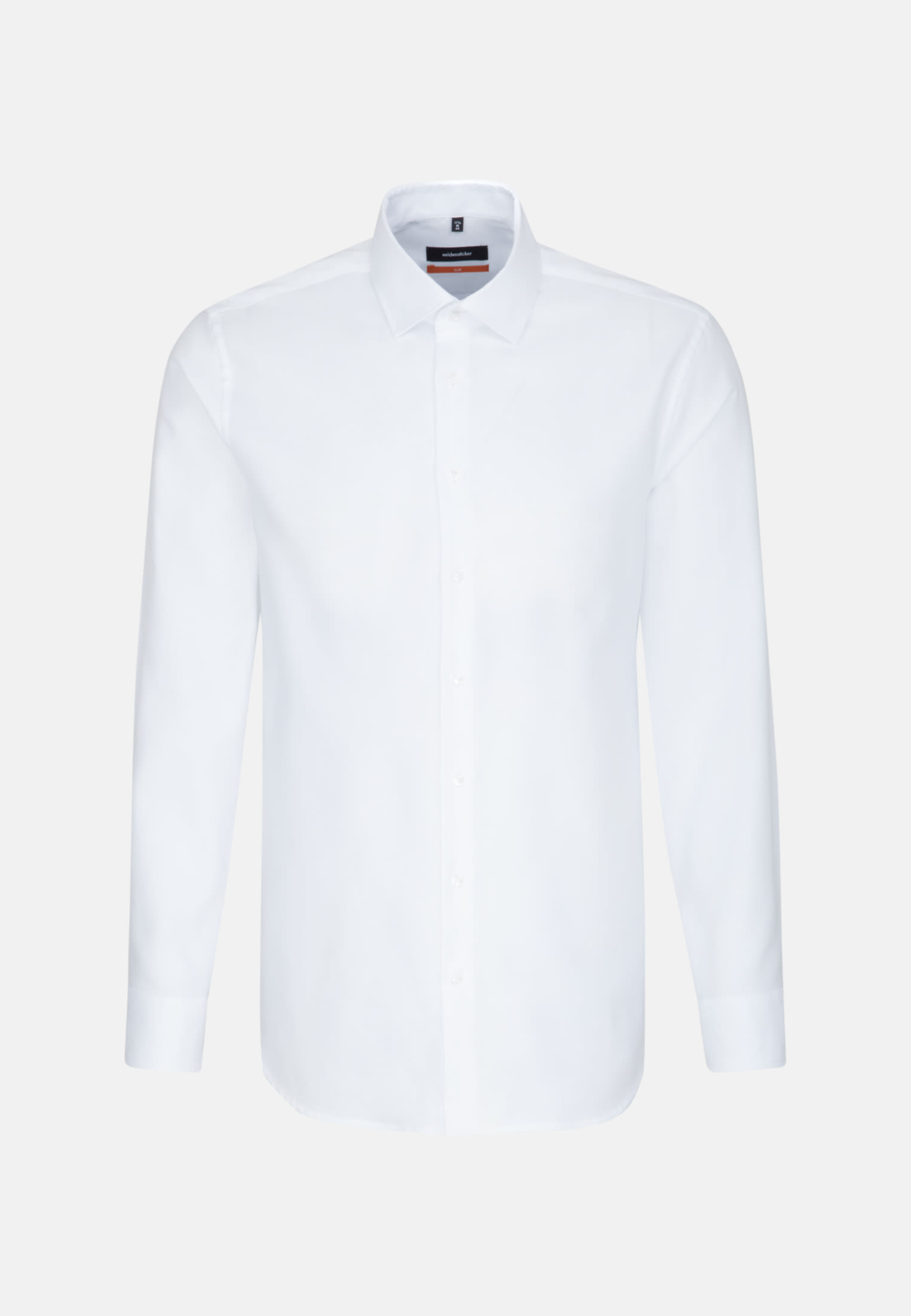 Easy-iron Oxford Business Shirt in Slim with Kent-Collar in weiß |  Seidensticker Onlineshop