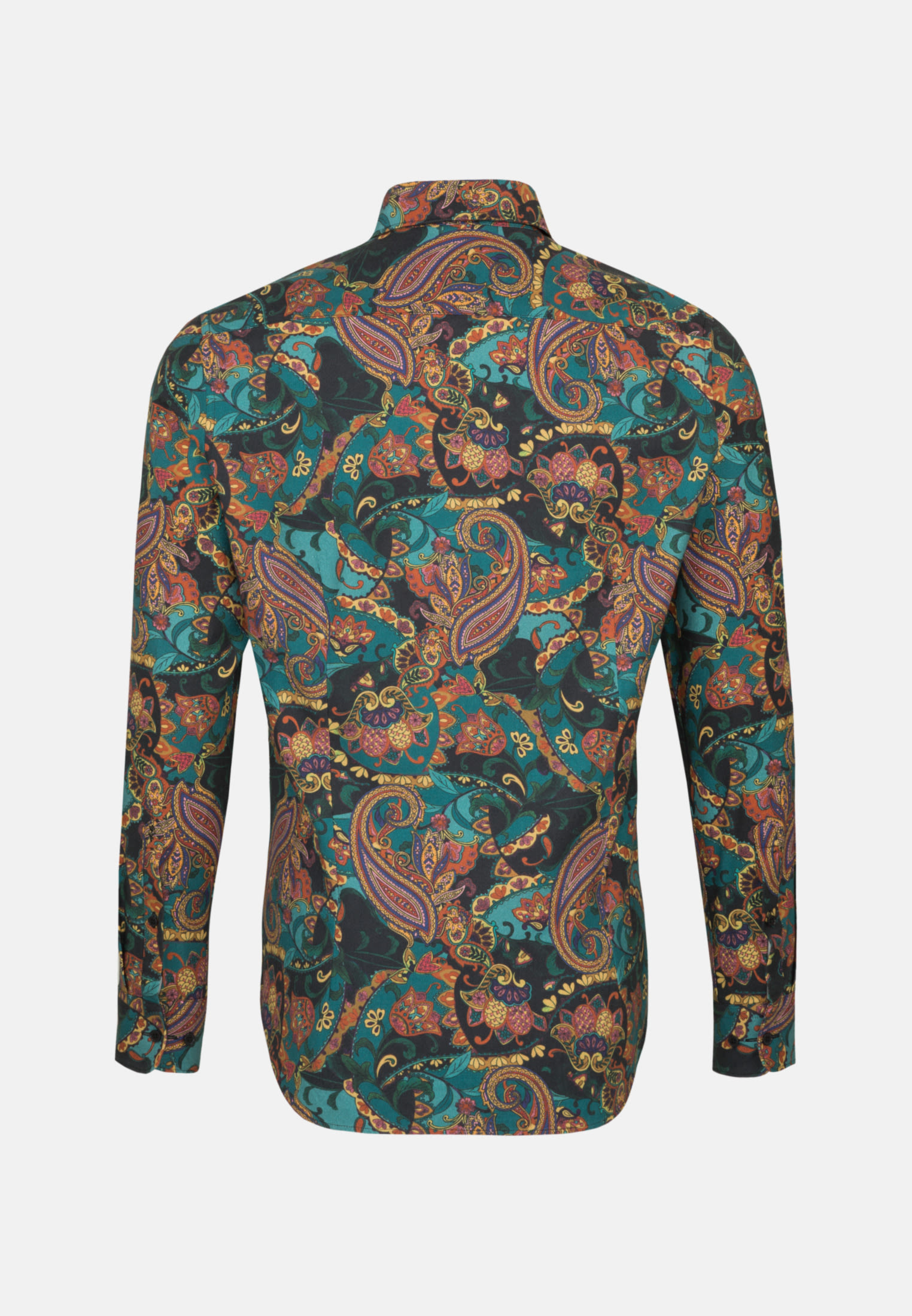 Easy-iron Twill Business Shirt in Tailored with Kent-Collar in orange |  Seidensticker Onlineshop