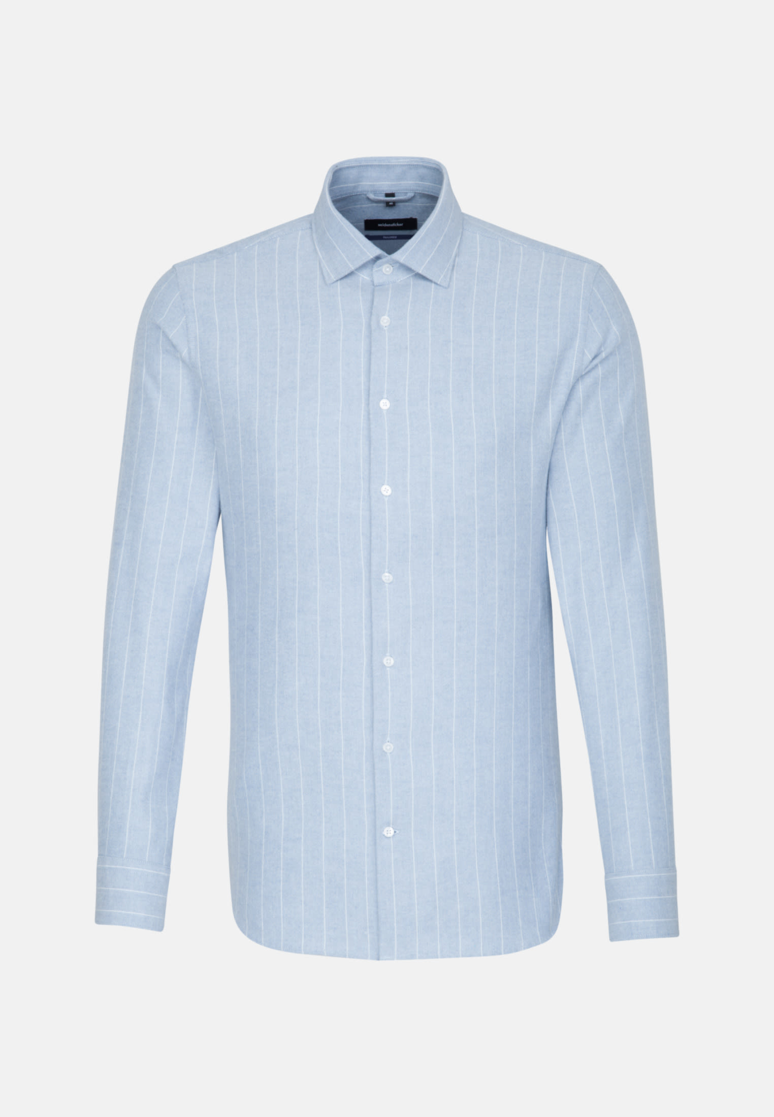 Easy-iron Oxford Business Shirt in Shaped with Kent-Collar in Light blue |  Seidensticker Onlineshop