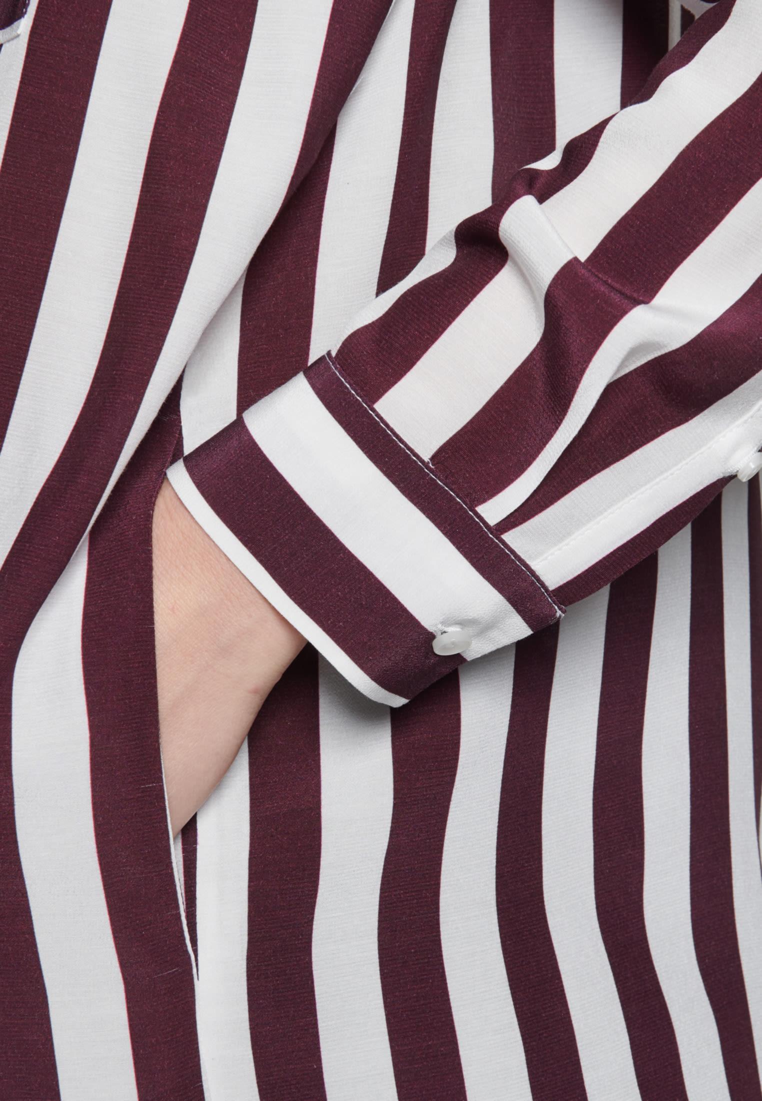 Krepp Midi Kleid aus 100% Viskose in Rot |  Seidensticker Onlineshop