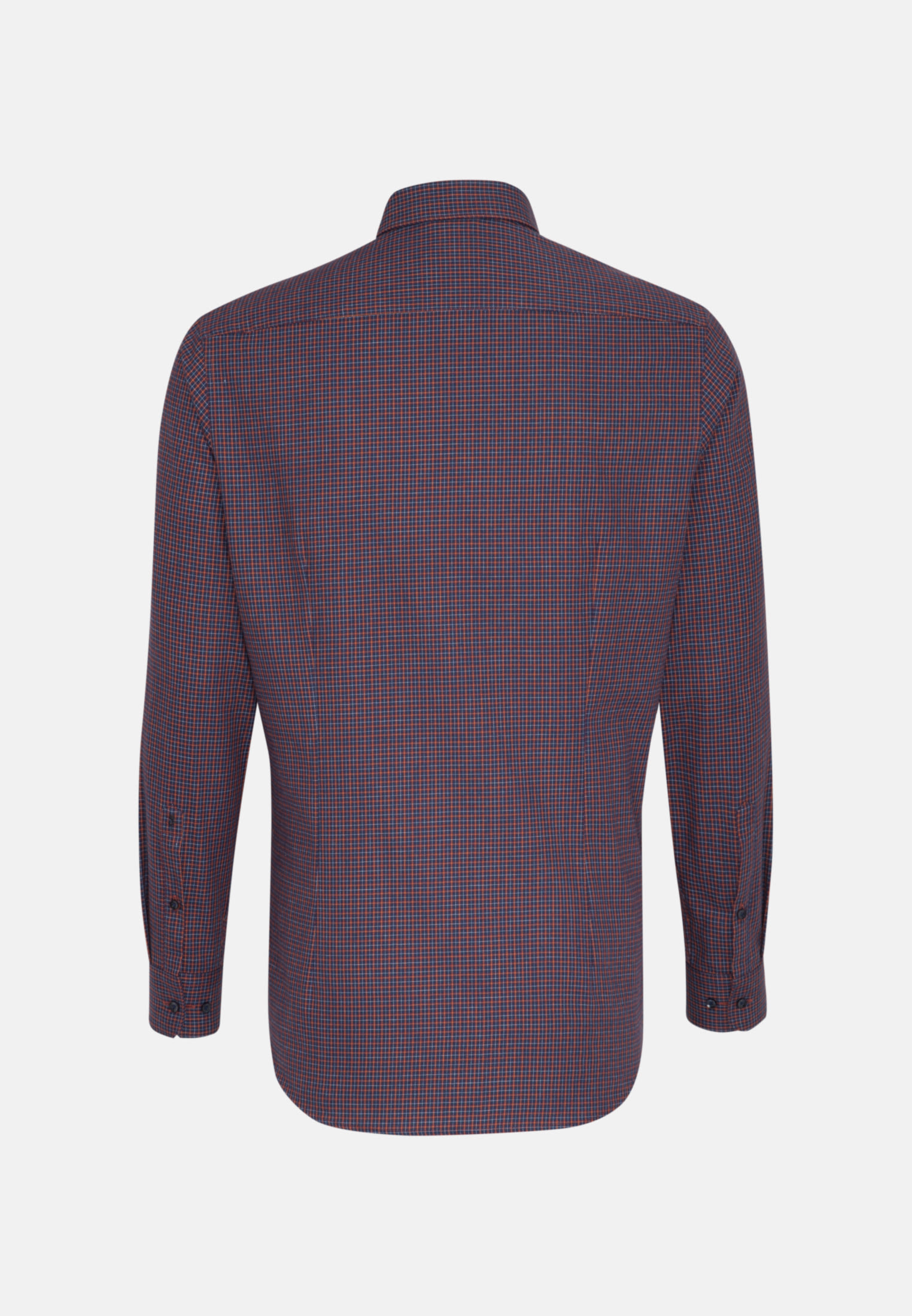 Bügelleichtes Twill Business Hemd in Shaped mit Button-Down-Kragen in Rot |  Seidensticker Onlineshop