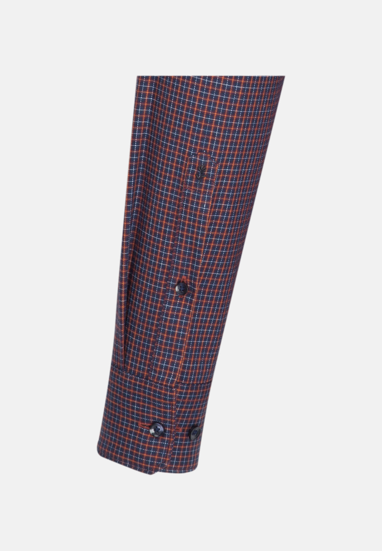 Easy-iron Twill Business Shirt in Slim with Button-Down-Collar in rot |  Seidensticker Onlineshop