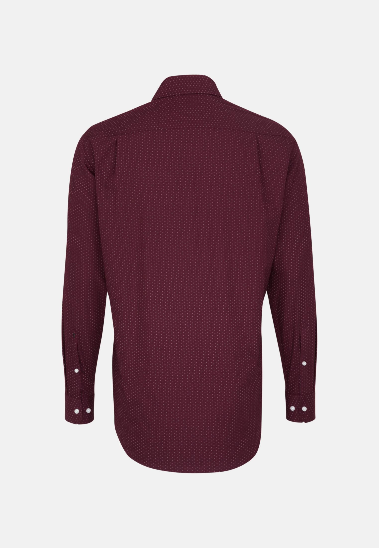 Easy-iron Poplin Business Shirt in Regular with Kent-Collar in Red |  Seidensticker Onlineshop