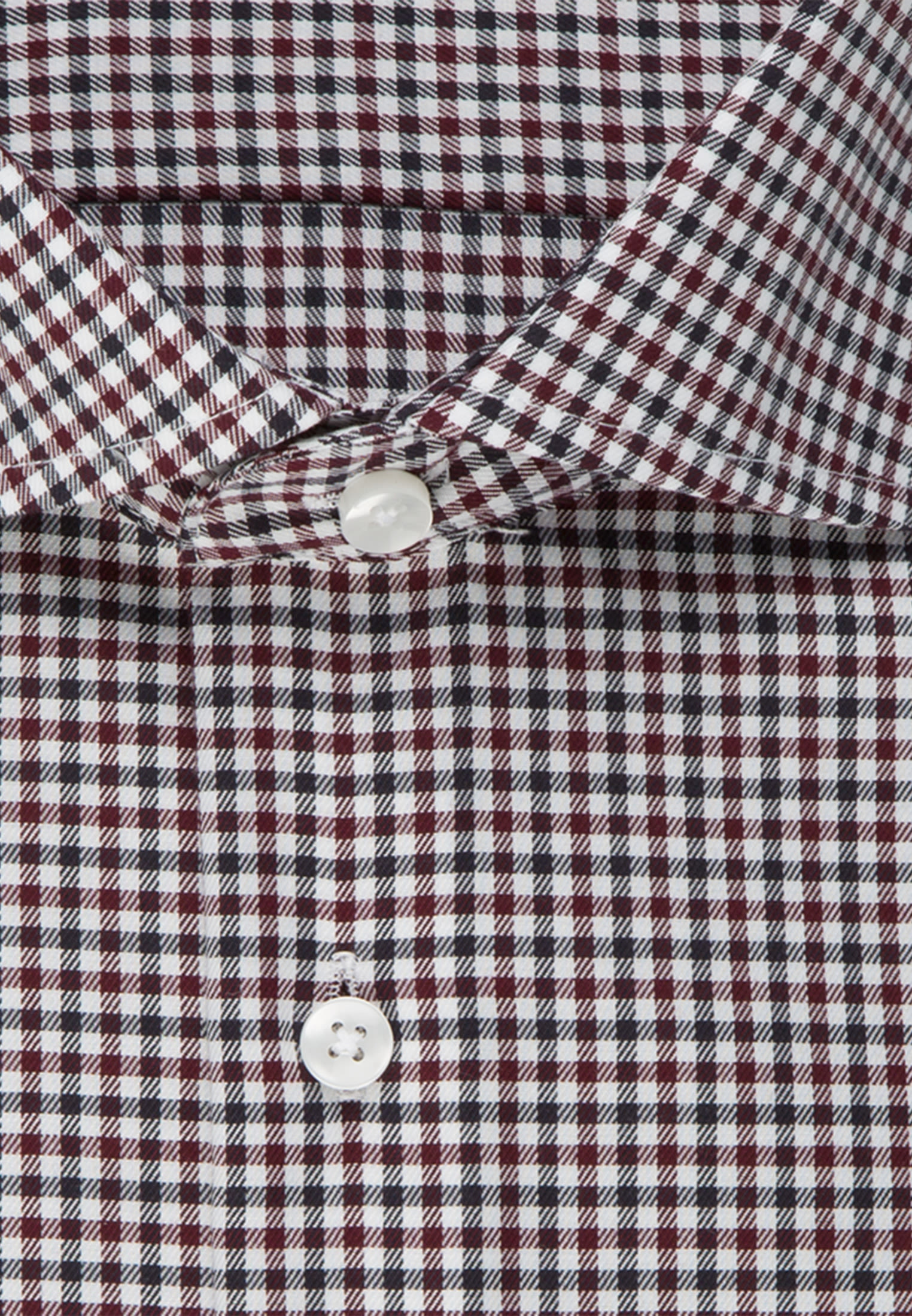 Non-iron Twill Business Shirt in Tailored with Kent-Collar in rot |  Seidensticker Onlineshop