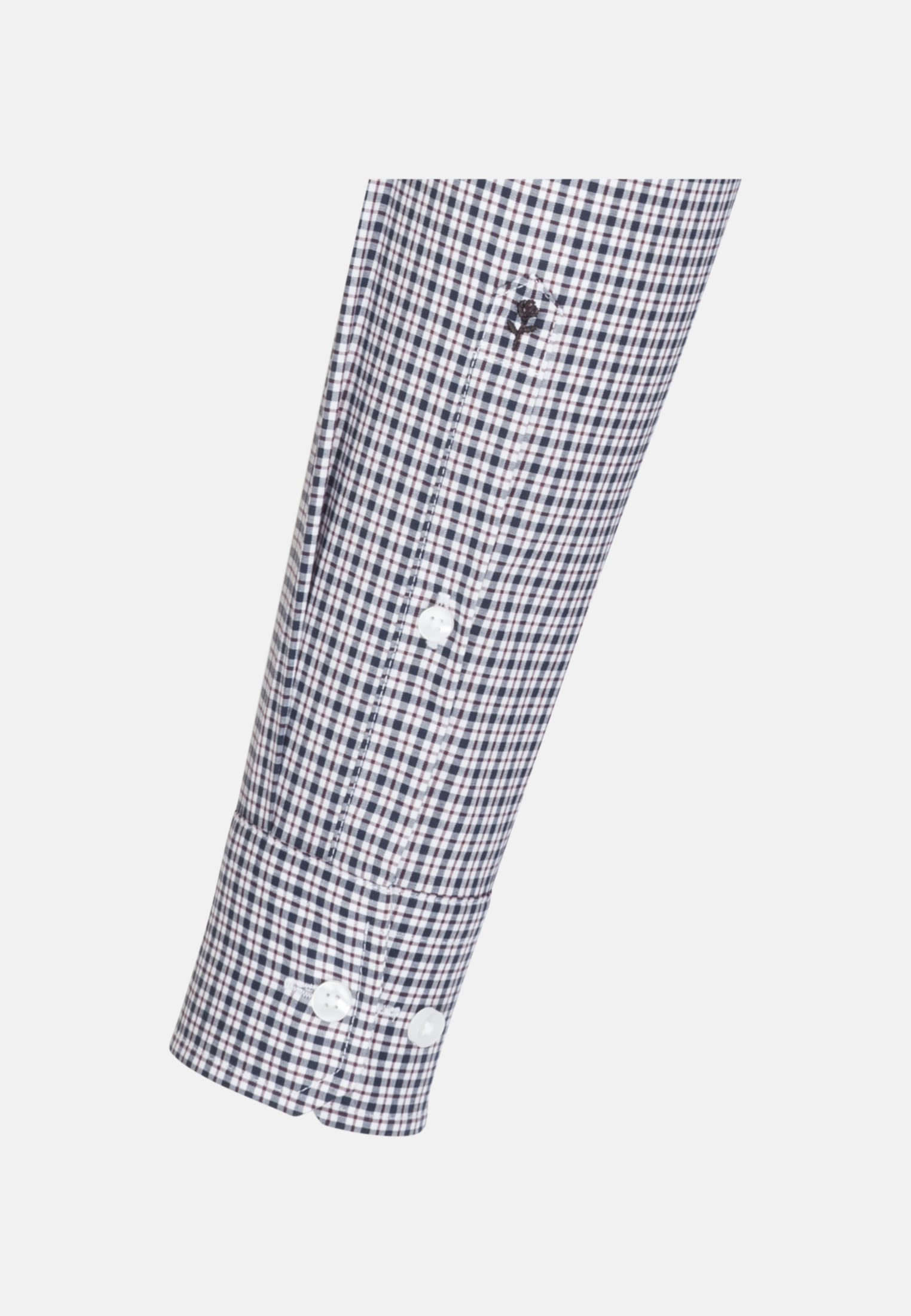 Non-iron Poplin Business Shirt in Slim with Kent-Collar in rot    Seidensticker Onlineshop