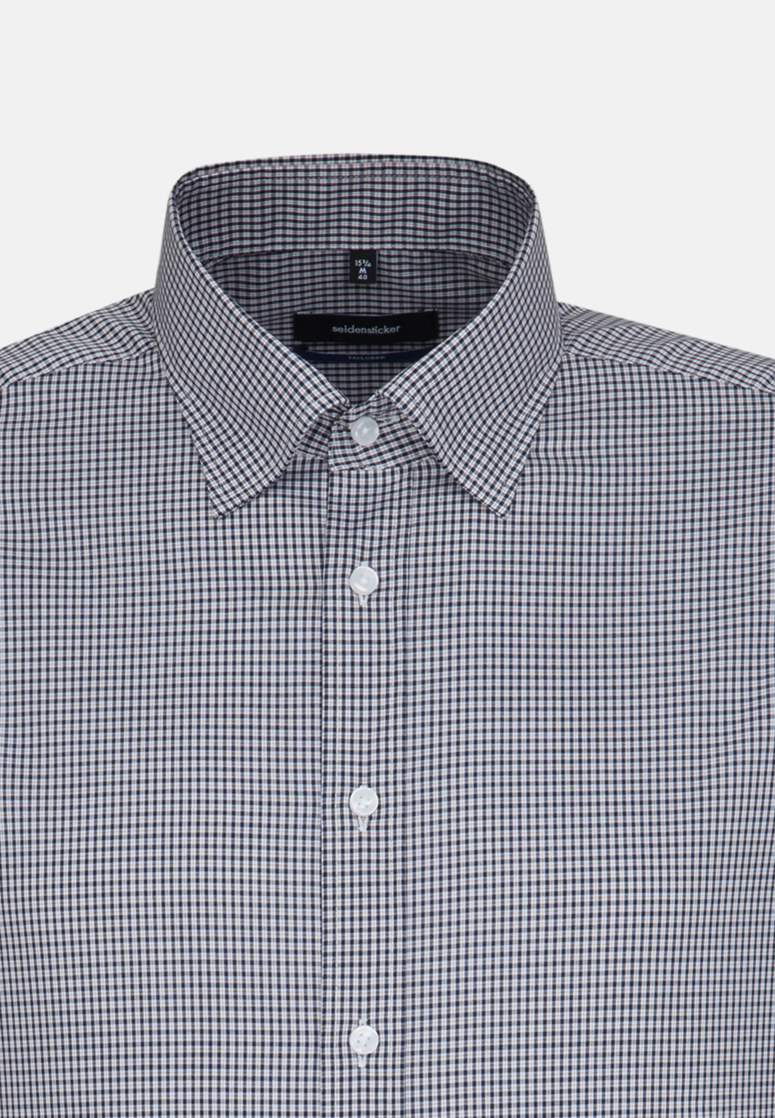 Bügelfreies Popeline Business Hemd in Shaped mit Covered-Button-Down-Kragen in Orange |  Seidensticker Onlineshop