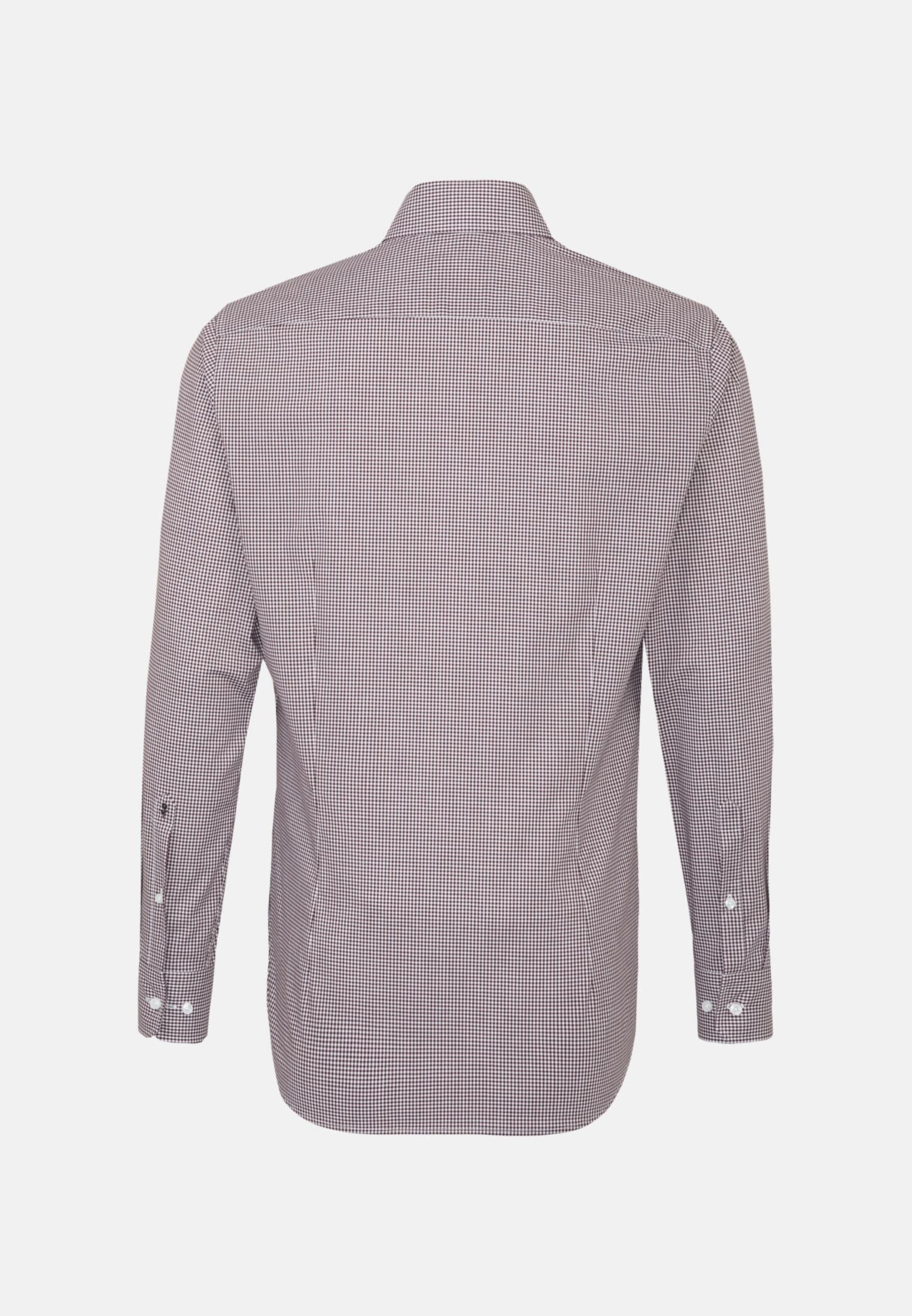 Non-iron Poplin Business Shirt in Slim with Kent-Collar in rot |  Seidensticker Onlineshop