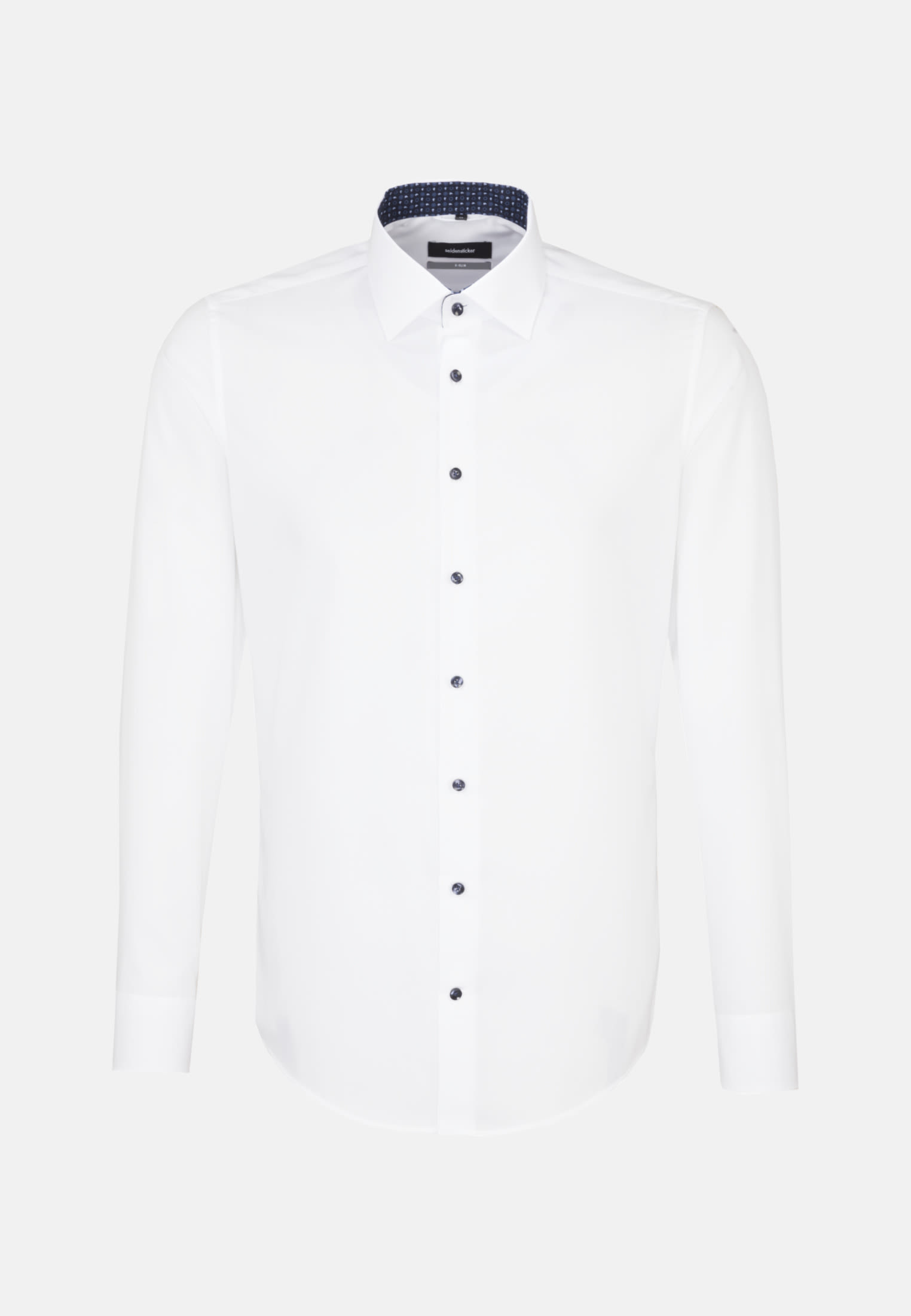 Non-iron Poplin Business Shirt in X-Slim with Kent-Collar in weiß |  Seidensticker Onlineshop
