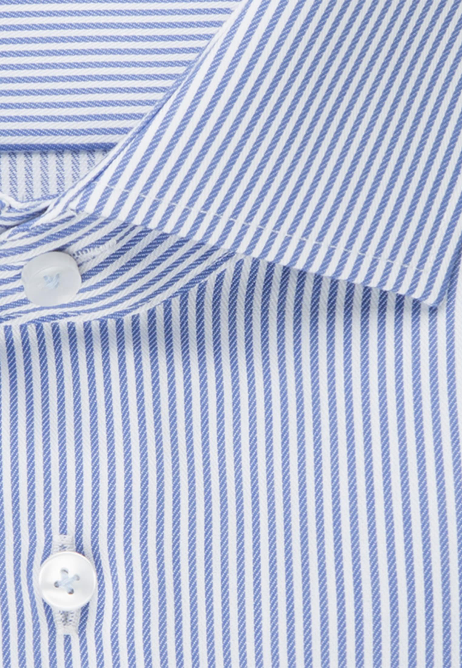 Non-iron Twill Business Shirt in Comfort with Kent-Collar in Light blue |  Seidensticker Onlineshop