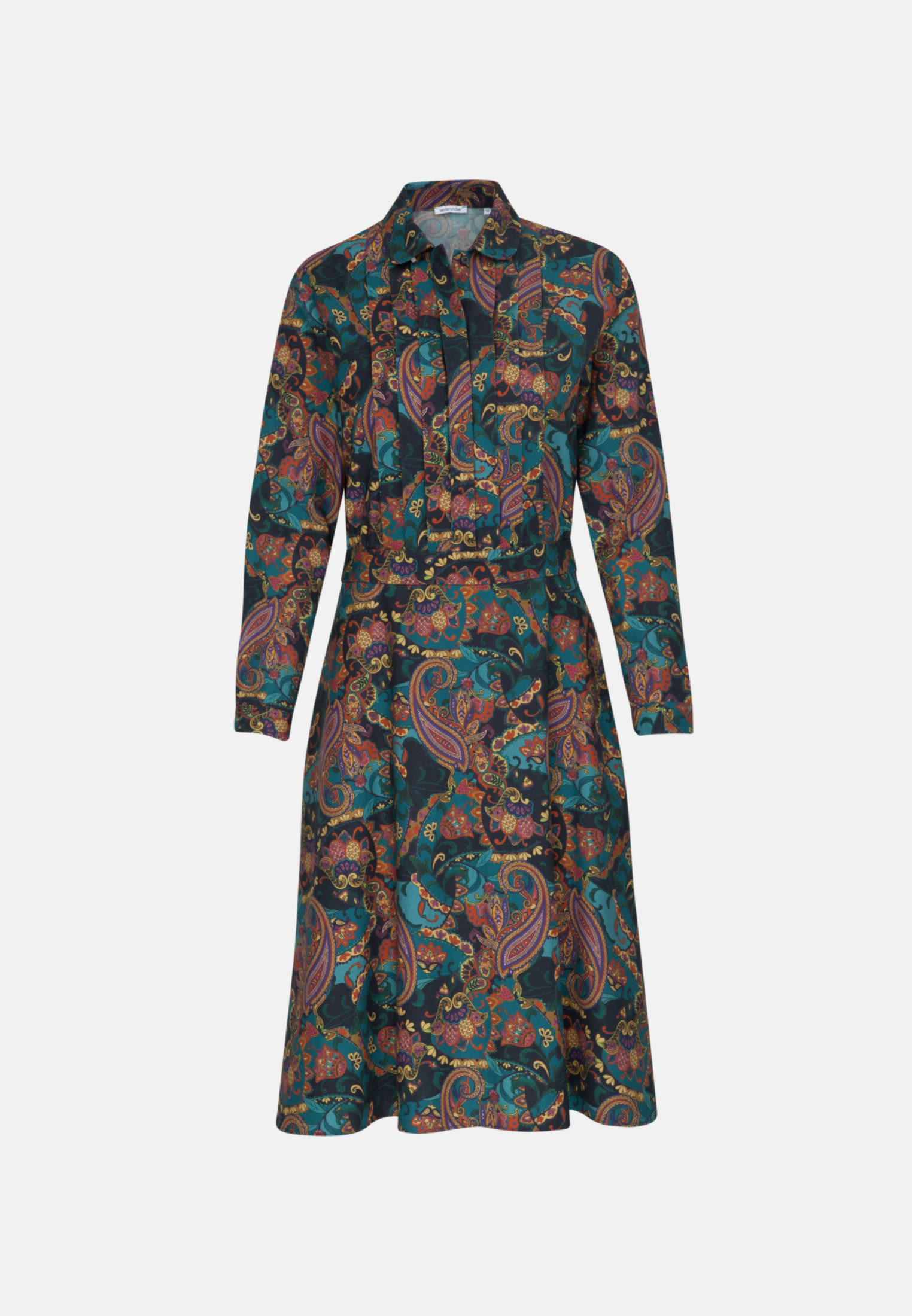 Twill Dress made of 100% Cotton in orange |  Seidensticker Onlineshop