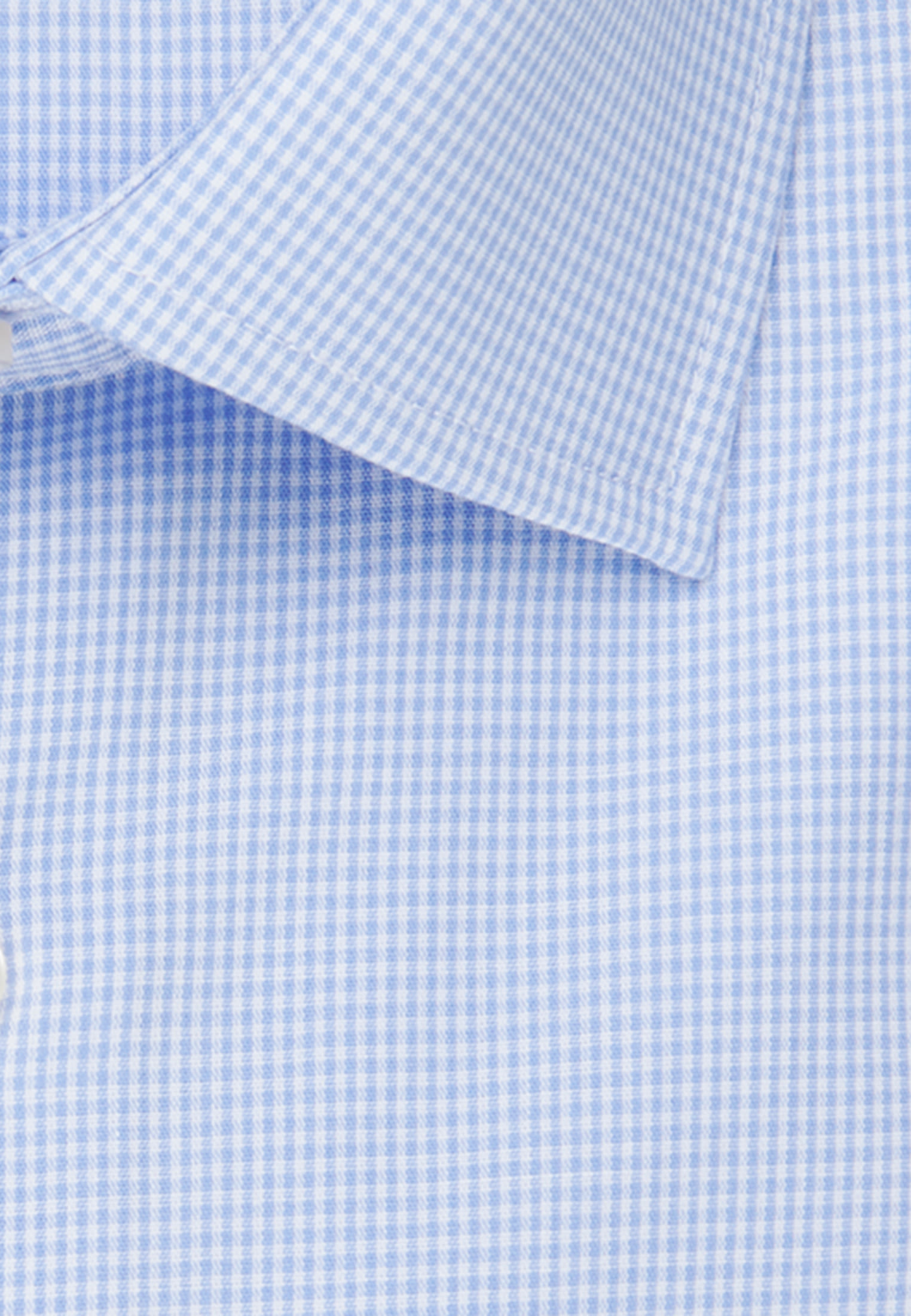 Non-iron Poplin Business Shirt in X-Slim with Kent-Collar in hellblau |  Seidensticker Onlineshop