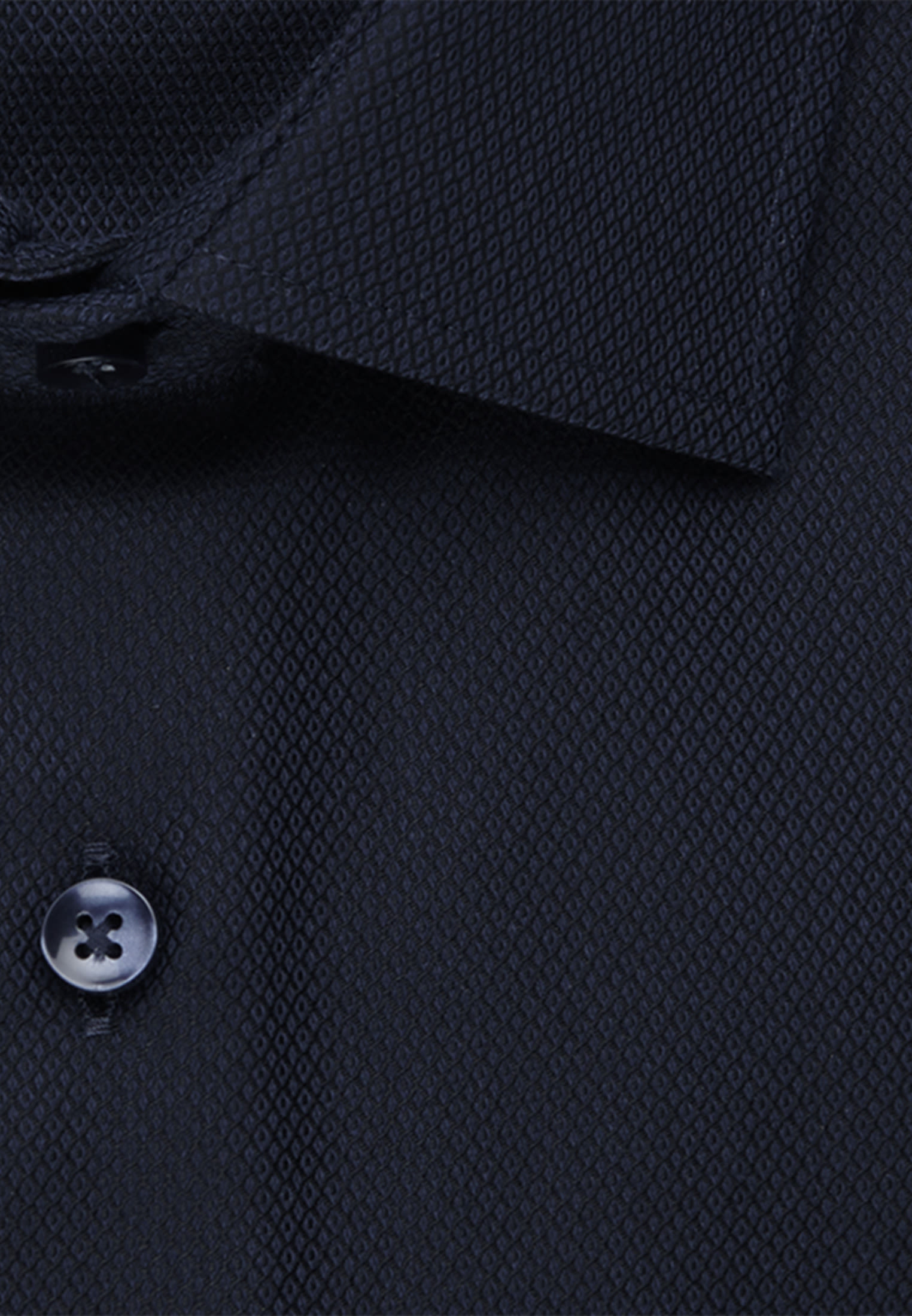 Easy-iron Structure Business Shirt in X-Slim with Kent-Collar in Dark blue |  Seidensticker Onlineshop