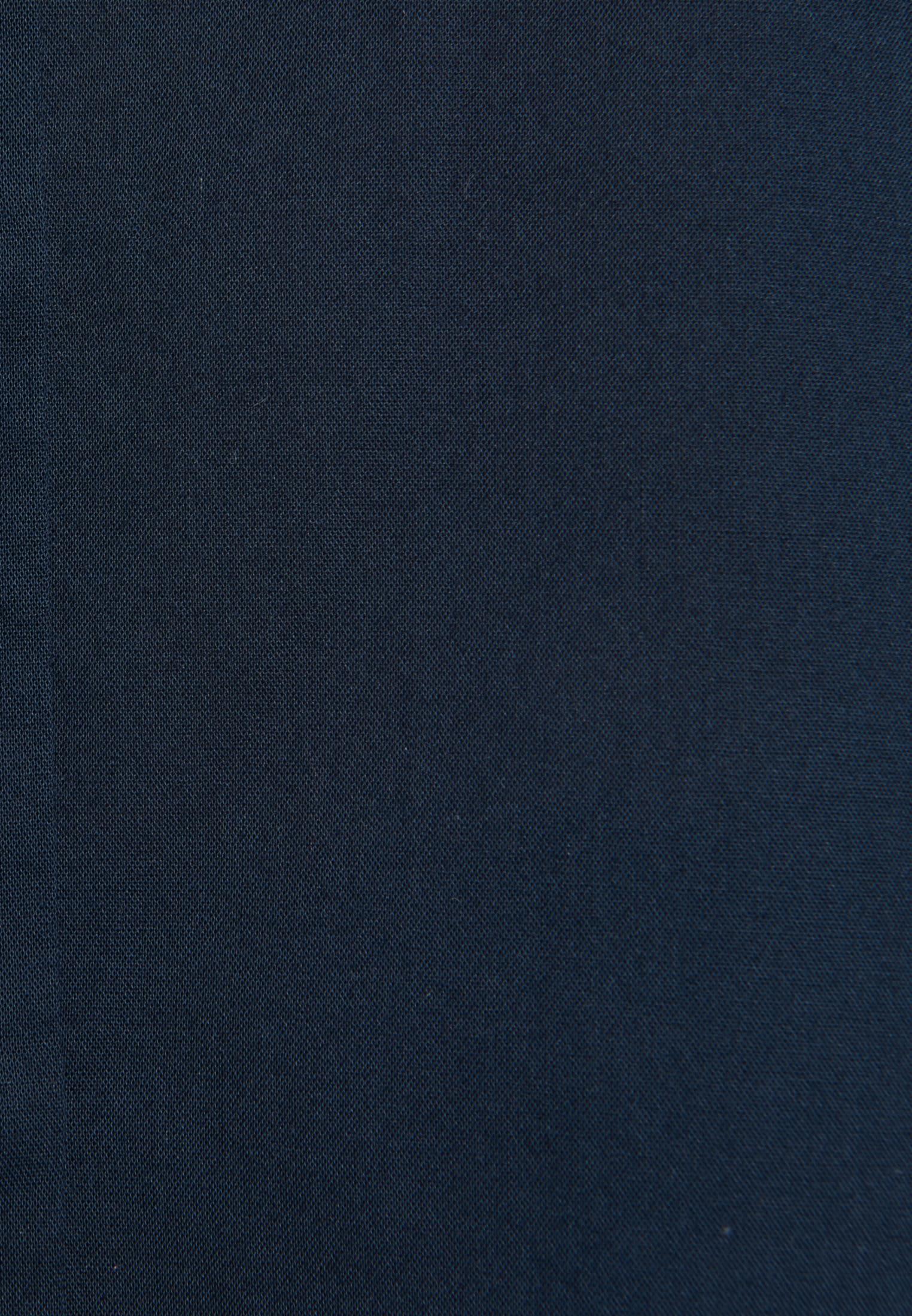 Voile Schluppenbluse aus 100% Baumwolle in Dunkelblau |  Seidensticker Onlineshop