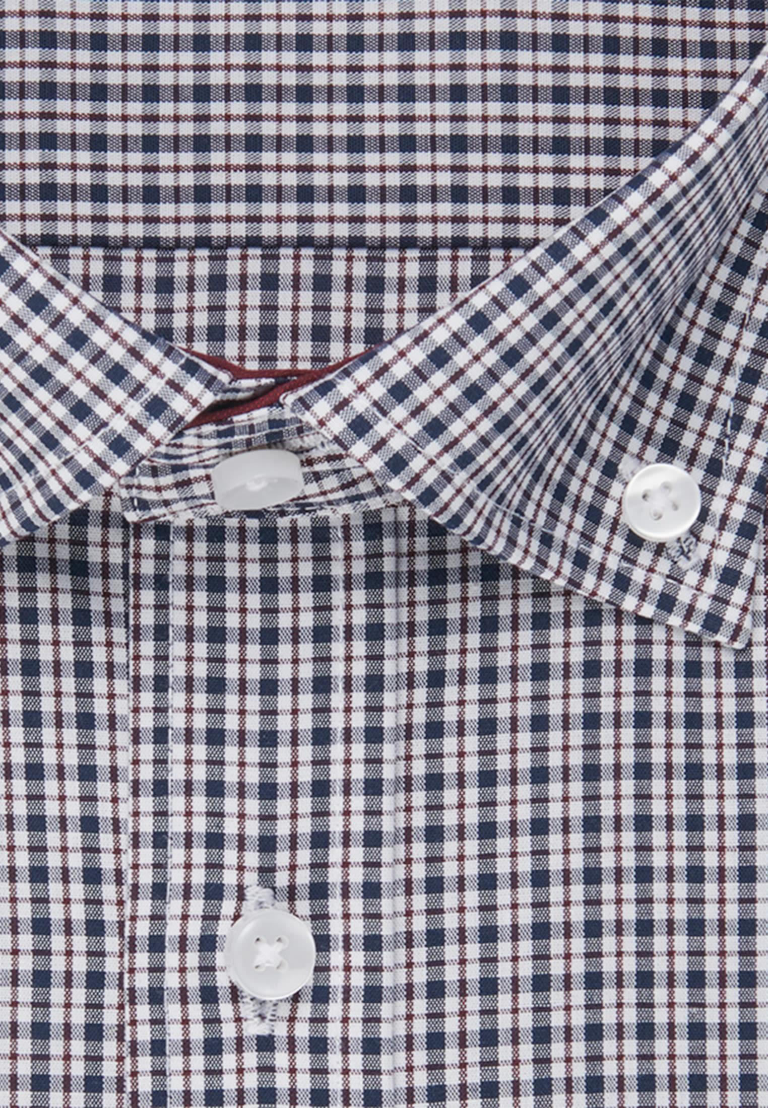 Bügelfreies Popeline Business Hemd in Regular mit Button-Down-Kragen in Rot |  Seidensticker Onlineshop