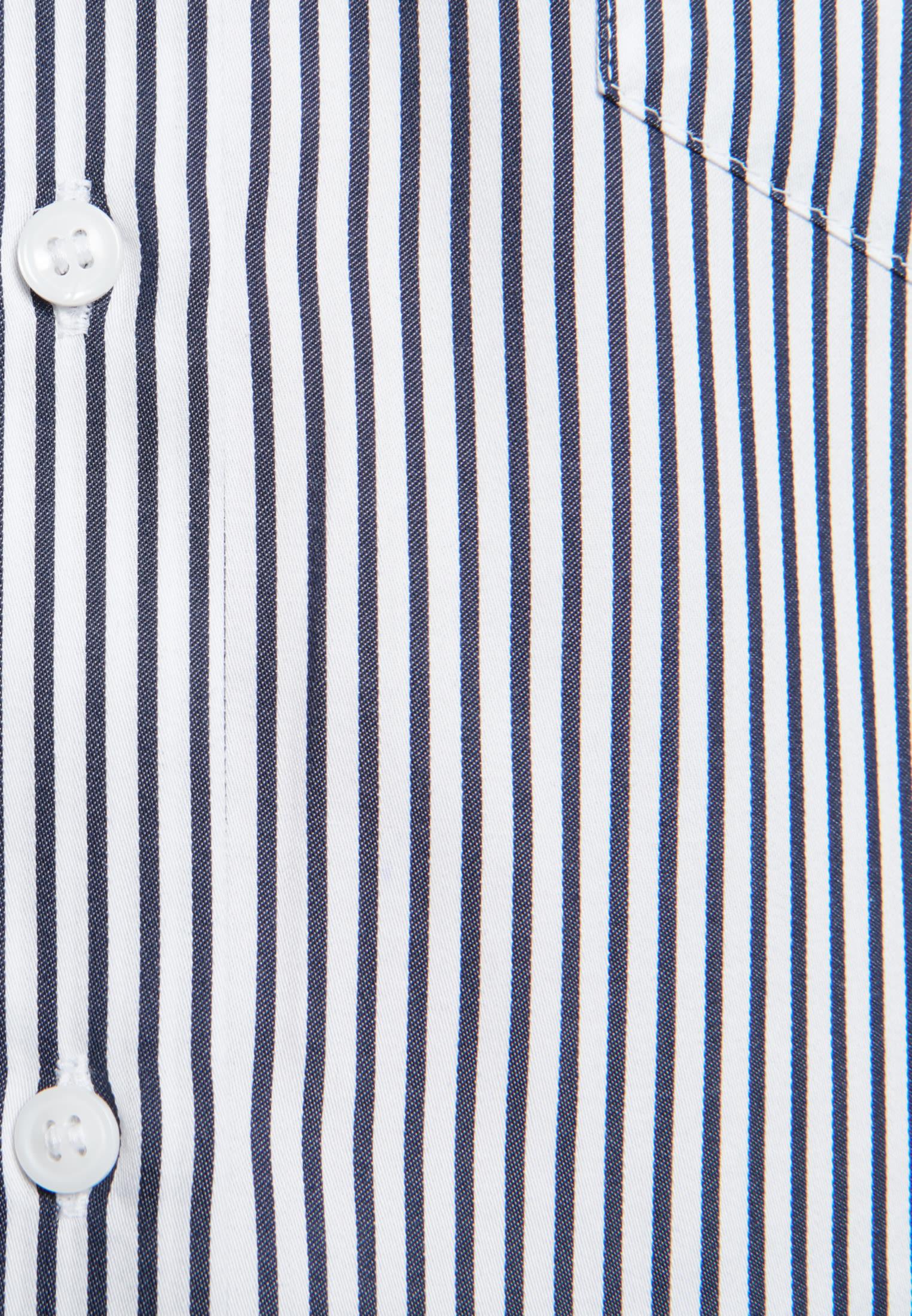 Satin Longbluse aus 100% Baumwolle in Ecru |  Seidensticker Onlineshop