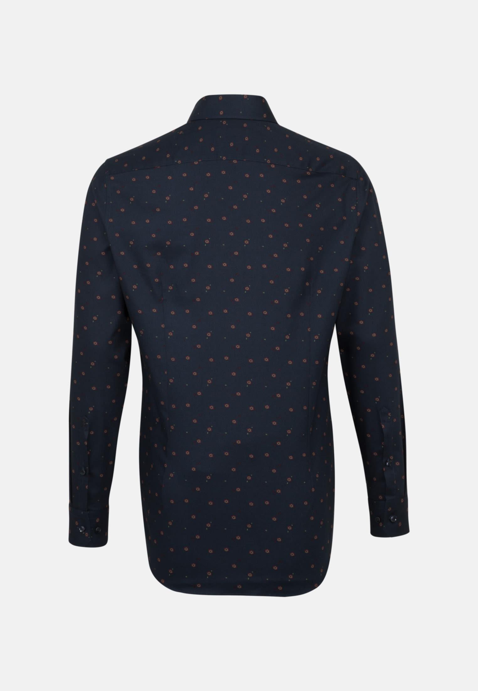 Bügelleichtes Twill Business Hemd in Tailored mit Kentkragen in bordeaux |  Seidensticker Onlineshop