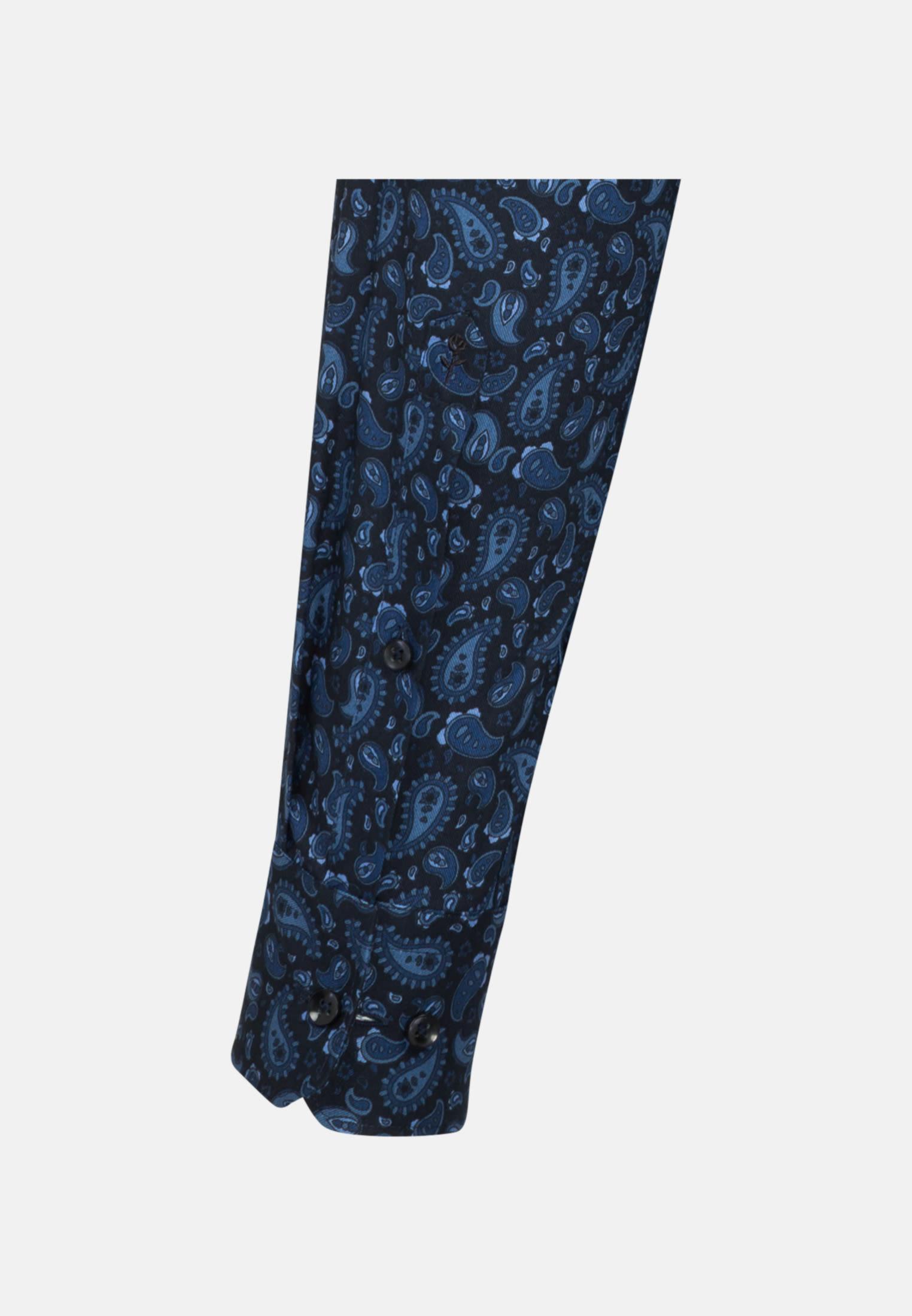 Bügelfreies Twill Business Hemd in Tailored mit Kentkragen in dunkelblau |  Seidensticker Onlineshop