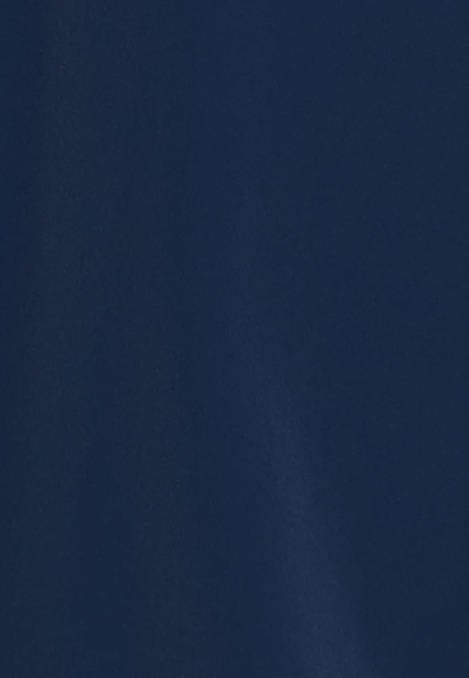 Krepp Shirtbluse aus Seidenmischung in Dunkelblau |  Seidensticker Onlineshop