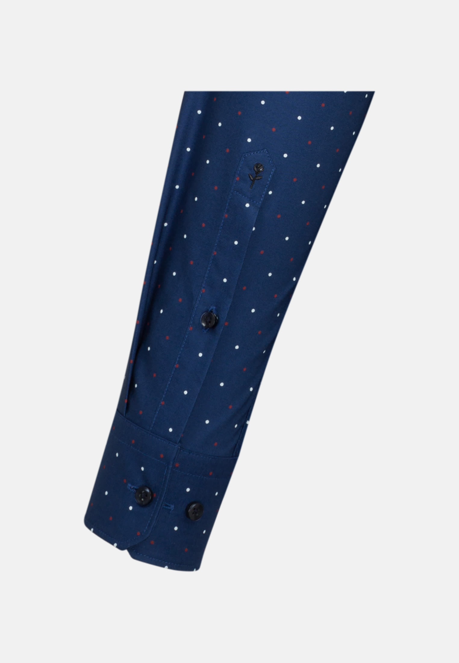 Bügelleichtes Oxford Business Hemd in Slim mit Kentkragen in Mittelblau |  Seidensticker Onlineshop