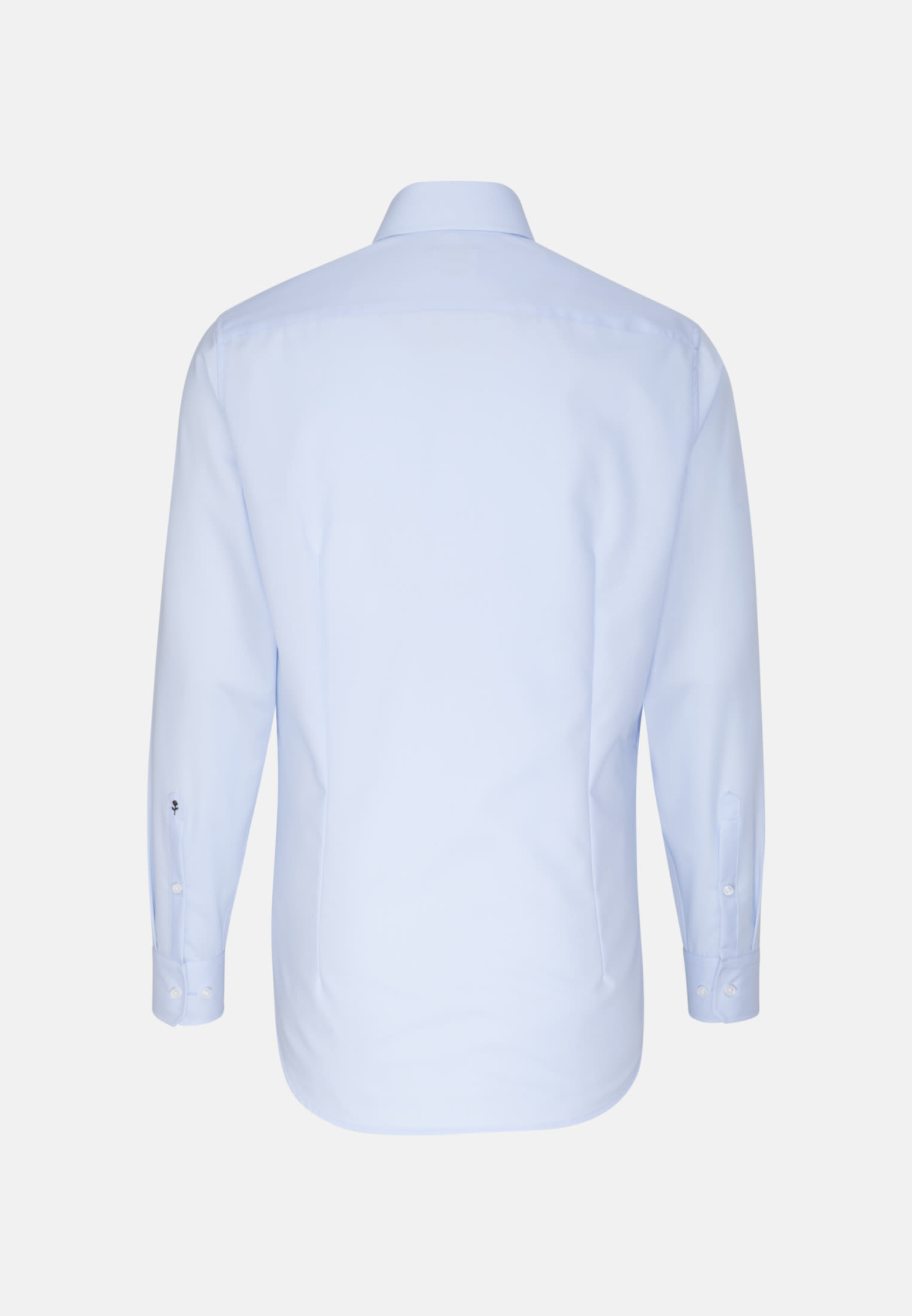 Non-iron Poplin Business Shirt in X-Slim with Kent-Collar in Medium blue |  Seidensticker Onlineshop