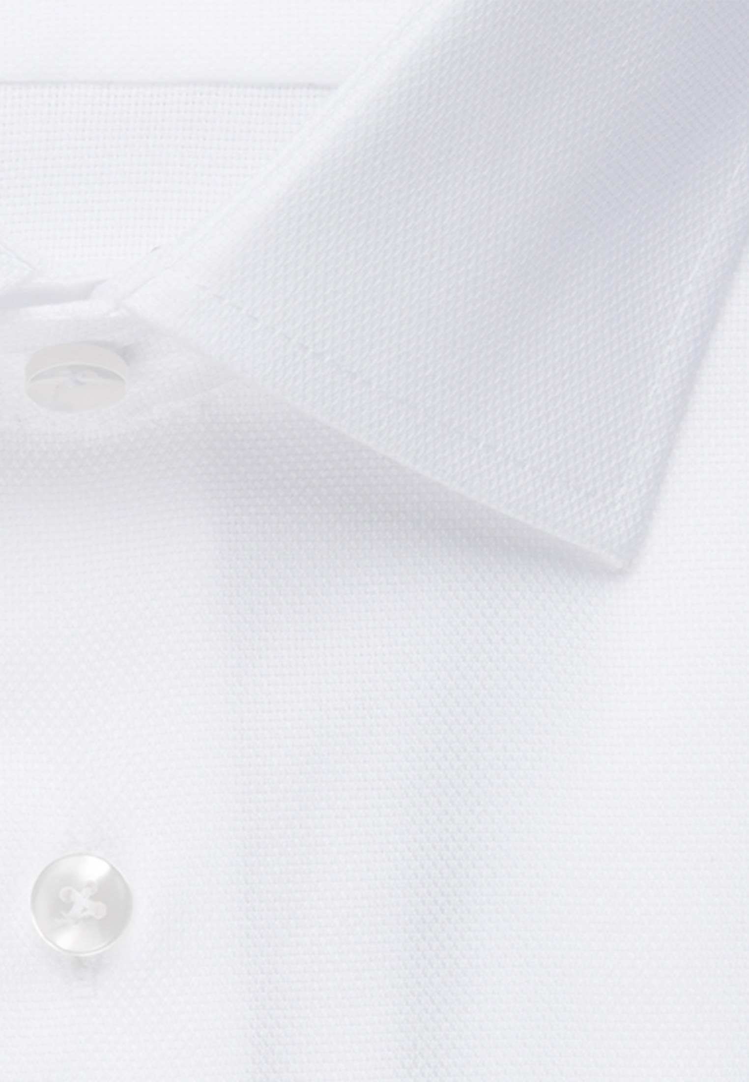 Non-iron Structure Business Shirt in Slim with Kent-Collar in White |  Seidensticker Onlineshop