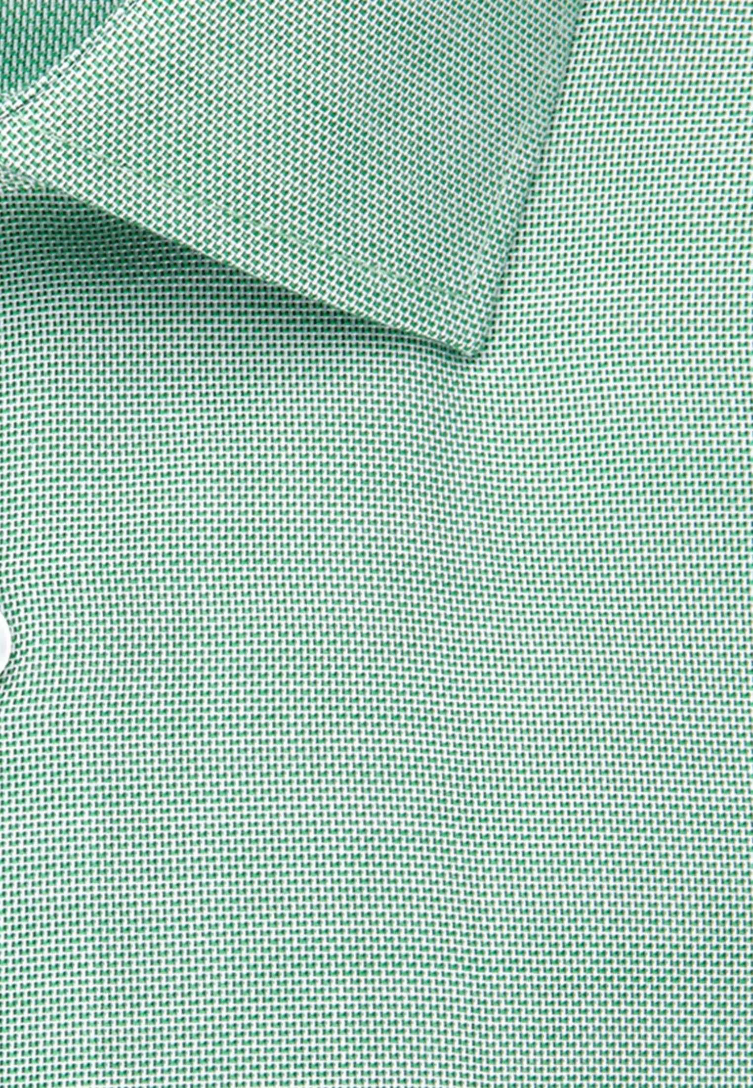 Bügelfreies Struktur Business Hemd in Regular mit Kentkragen in Grün    Seidensticker Onlineshop