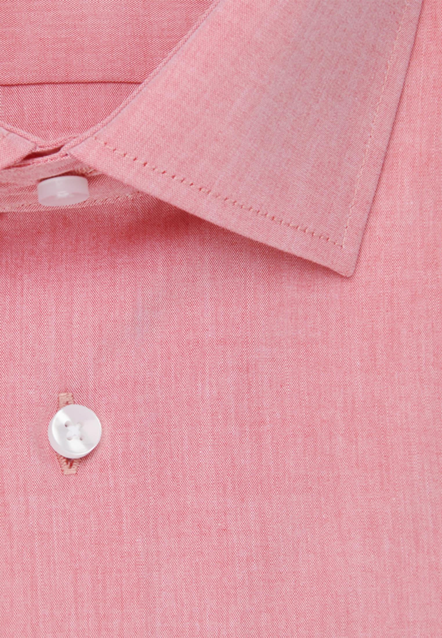 Bügelfreies Chambray Business Hemd in Slim mit Kentkragen in Rot |  Seidensticker Onlineshop